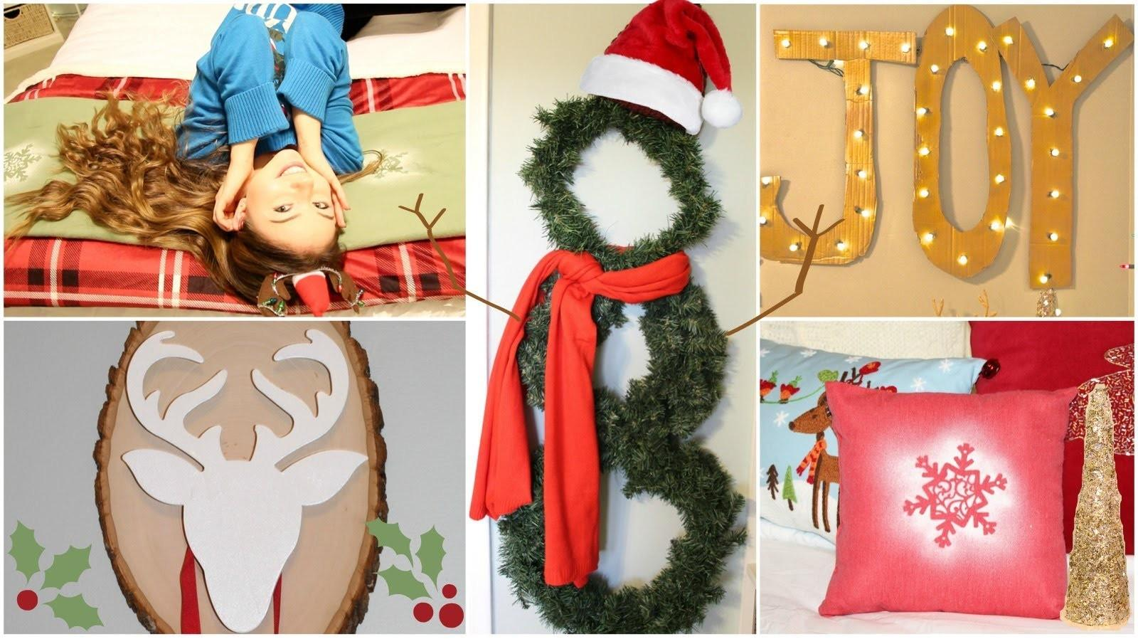 Diy Holiday Winter Room Decorations Gift Ideas