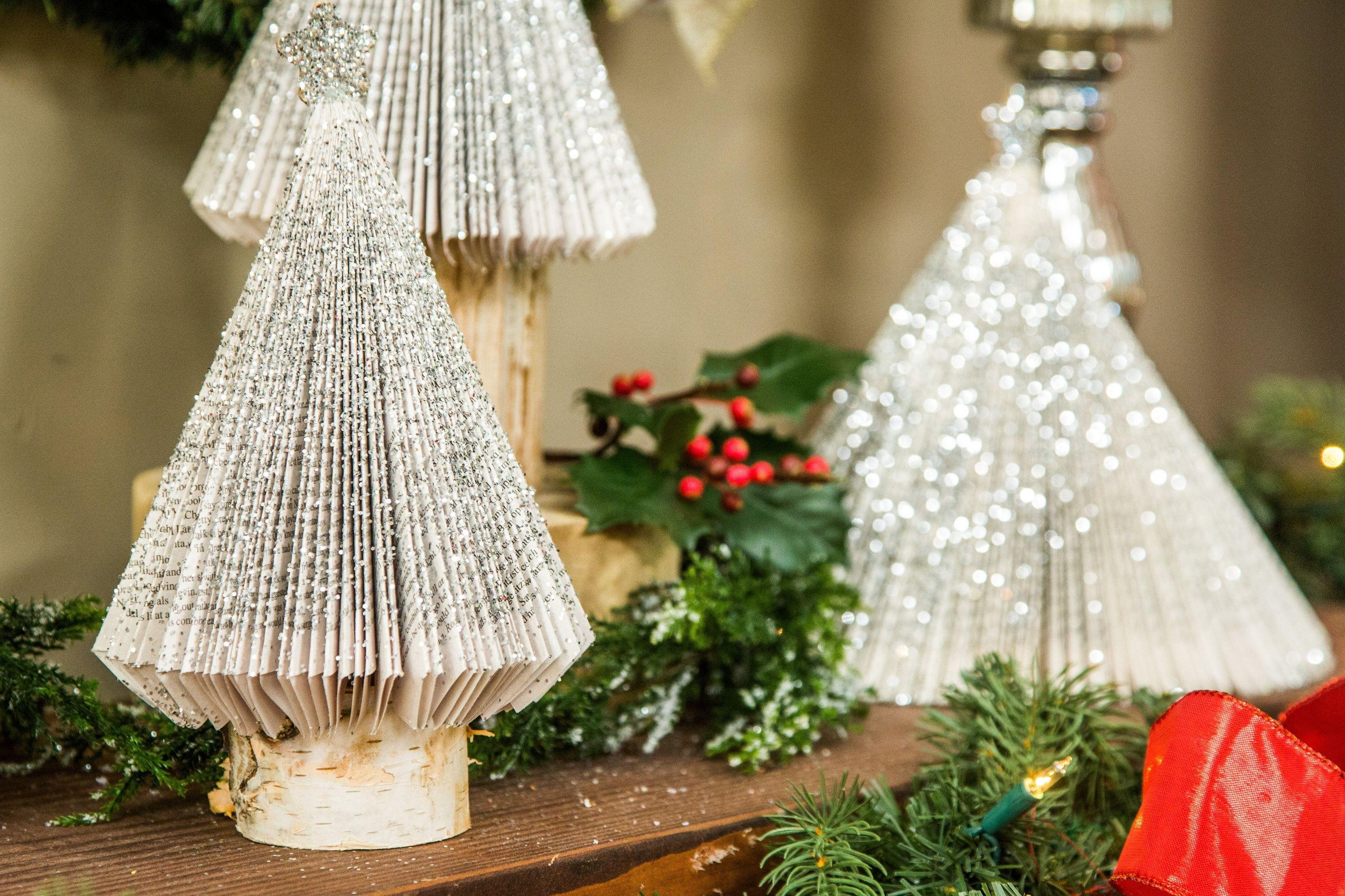 Diy Home Christmas Tree Craft Ideas Fun Projects