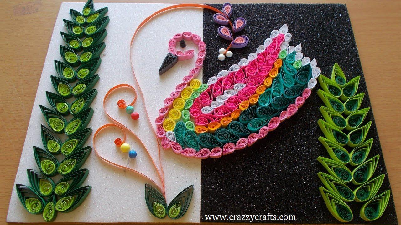 Diy Home Decor Paper Quilling Art Crazzy Crafts