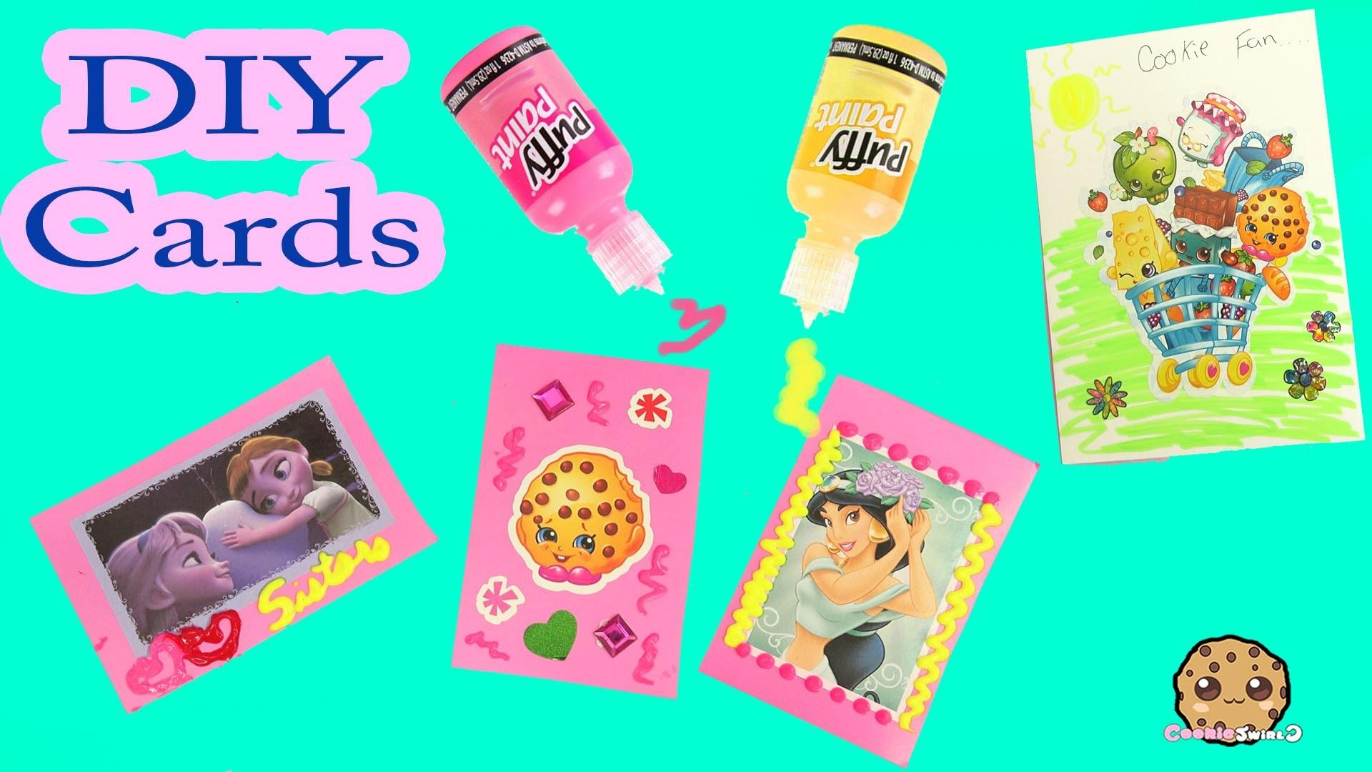 Diy Homemade Valentines Day Cards Stickers Puffy