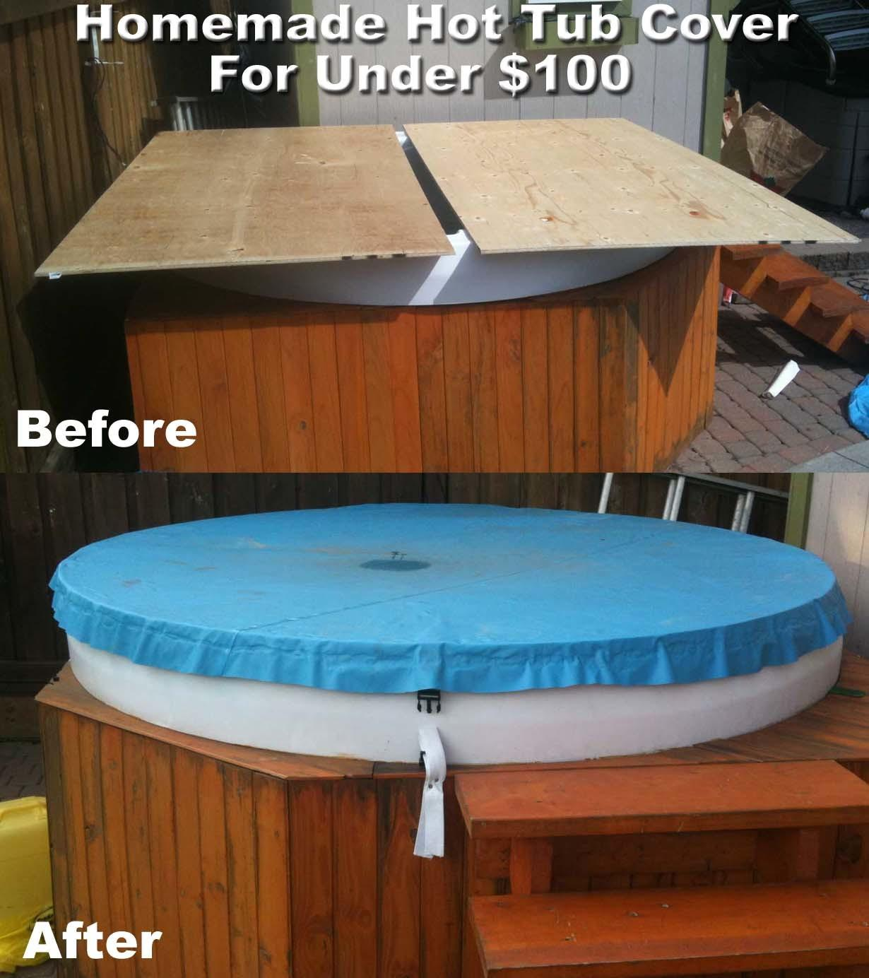 Diy Hot Tub Cover Projects
