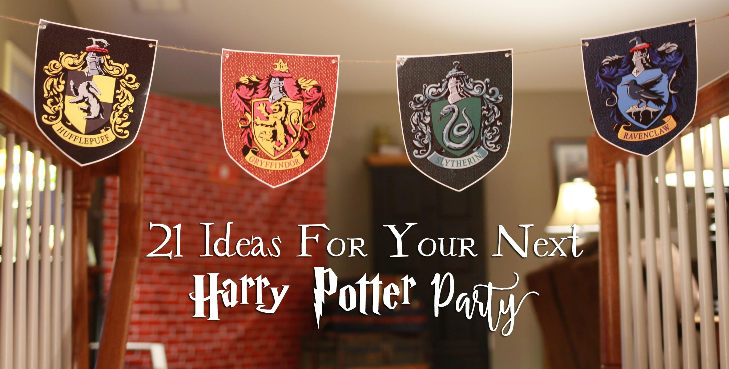 Diy Ideas Your Next Harry Potter Party Another