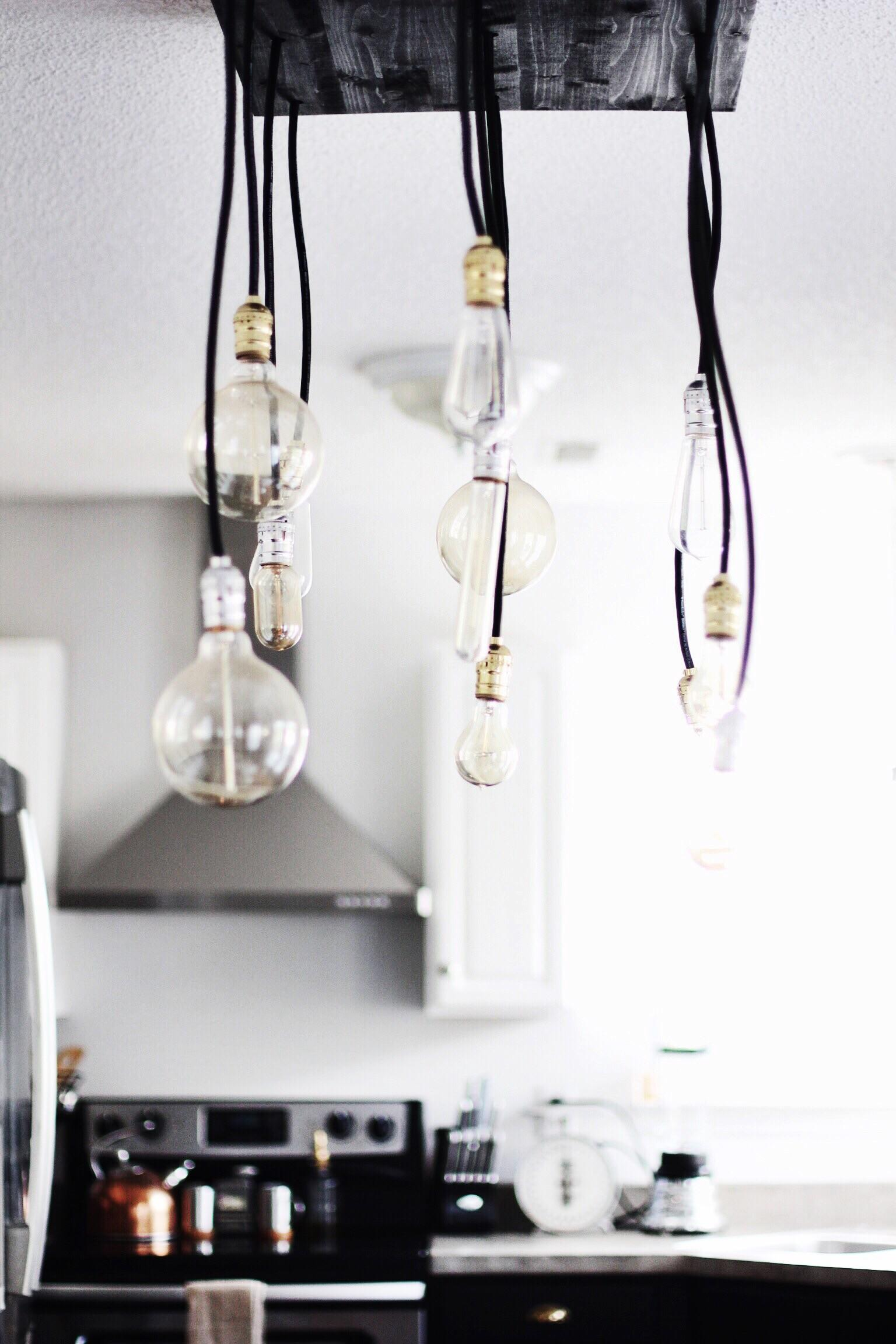Diy Industrial Chandelier Like Yogurt