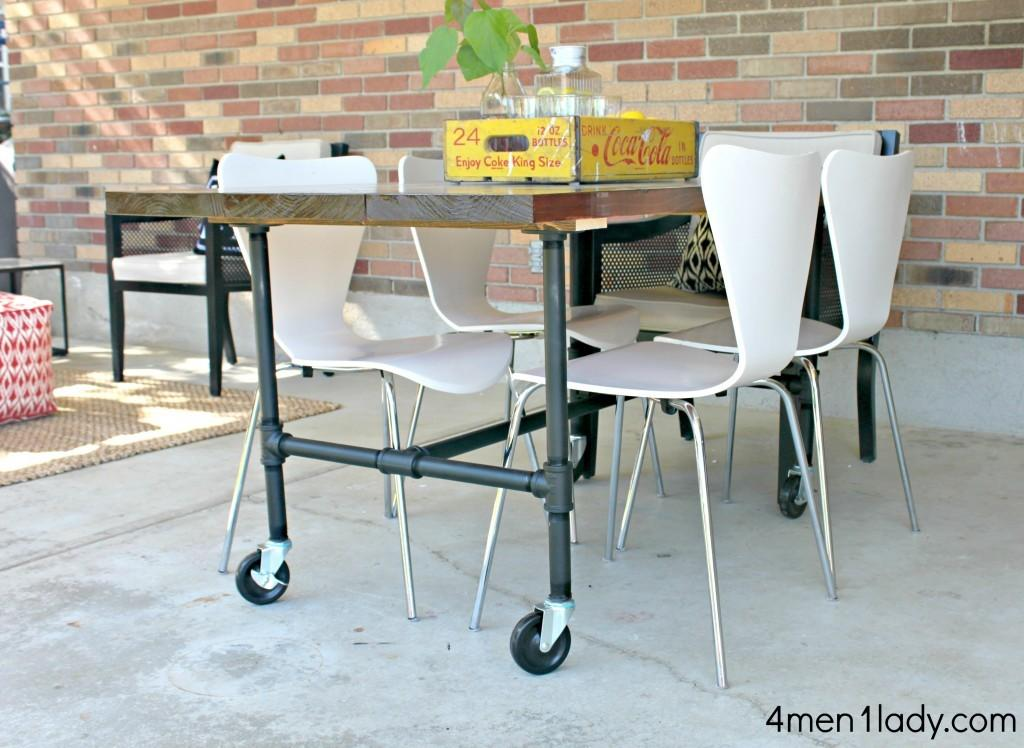 Diy Industrial Dining Table Chic