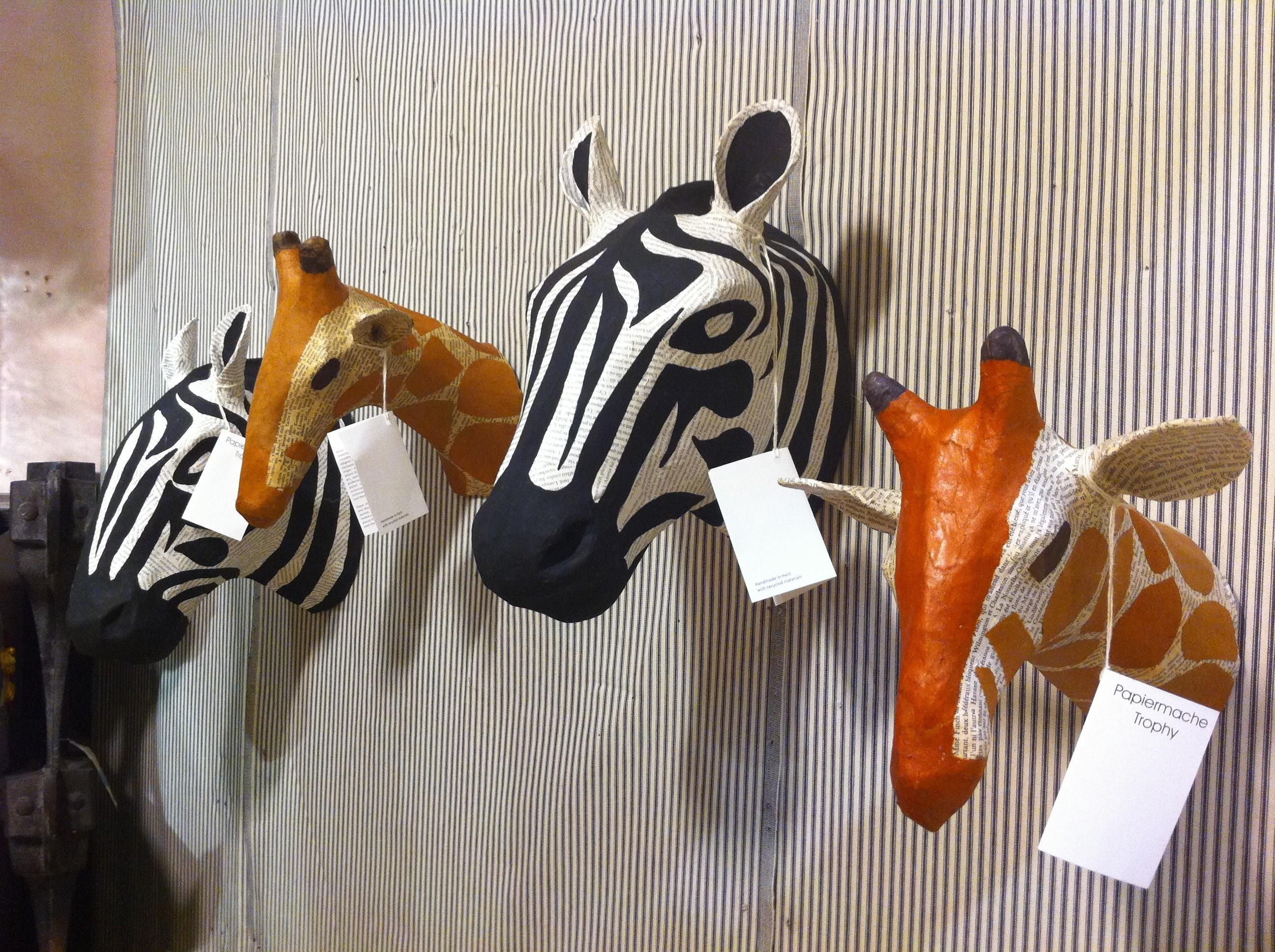 Diy Inspiration Paper Animal Bust Anthropologie
