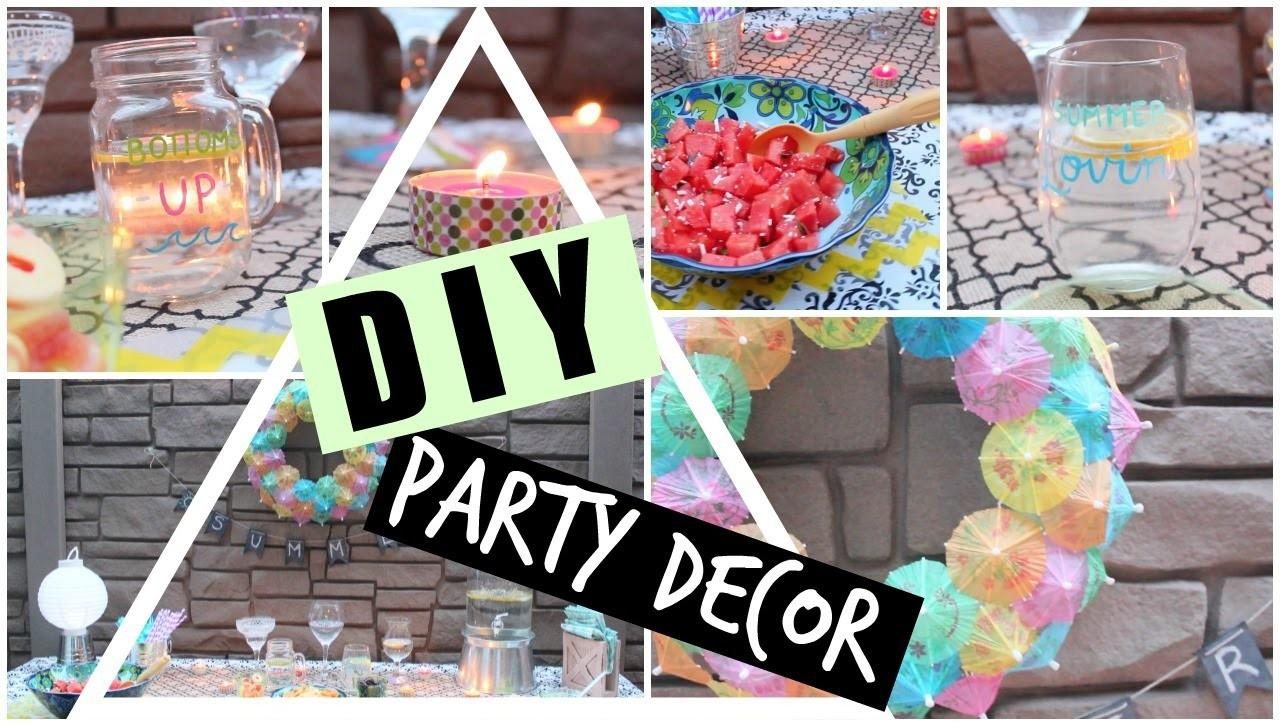 Diy Inspired Summer Party Decor