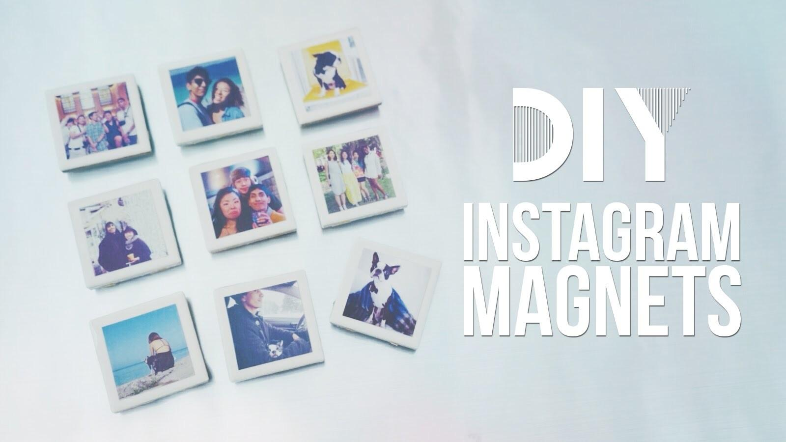 Diy Instagram Polaroid Magnets