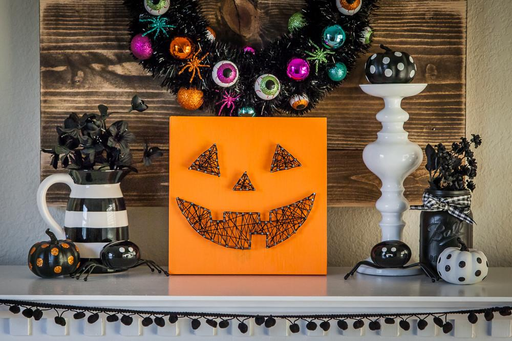 Diy Jack Lantern String Art Eighteen25
