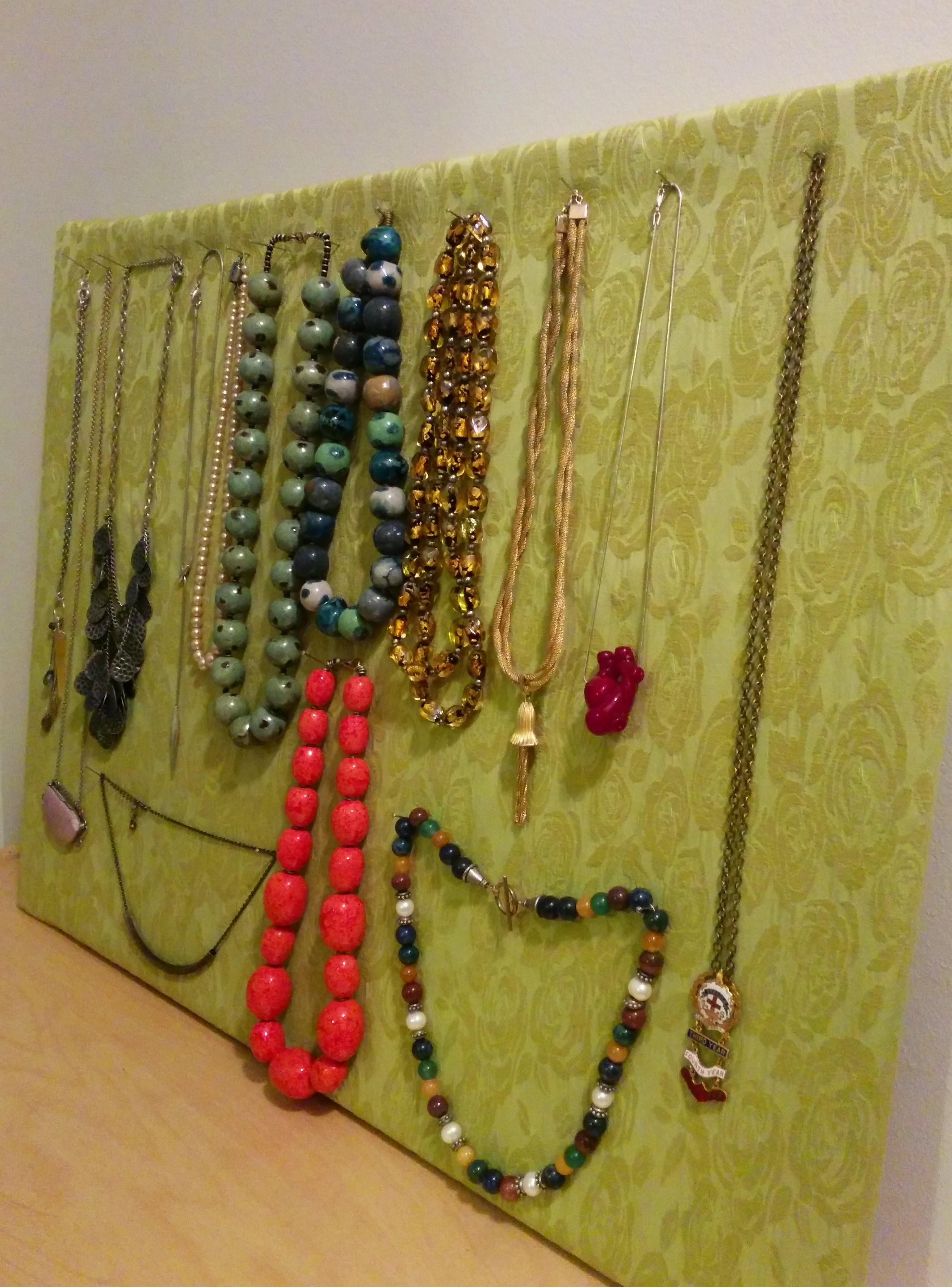 Diy Jewelry Holder Cork Board Projects