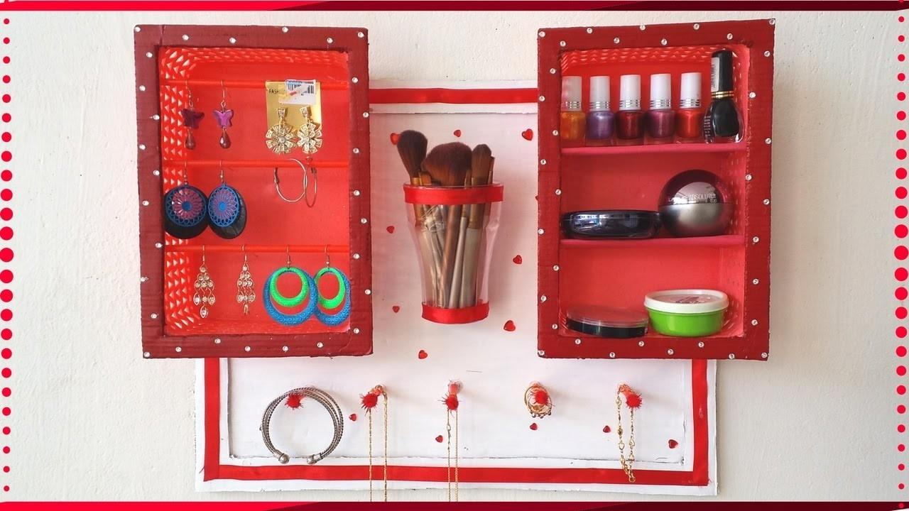 Diy Jewelry Holder Makeup Organizer Nail Polish