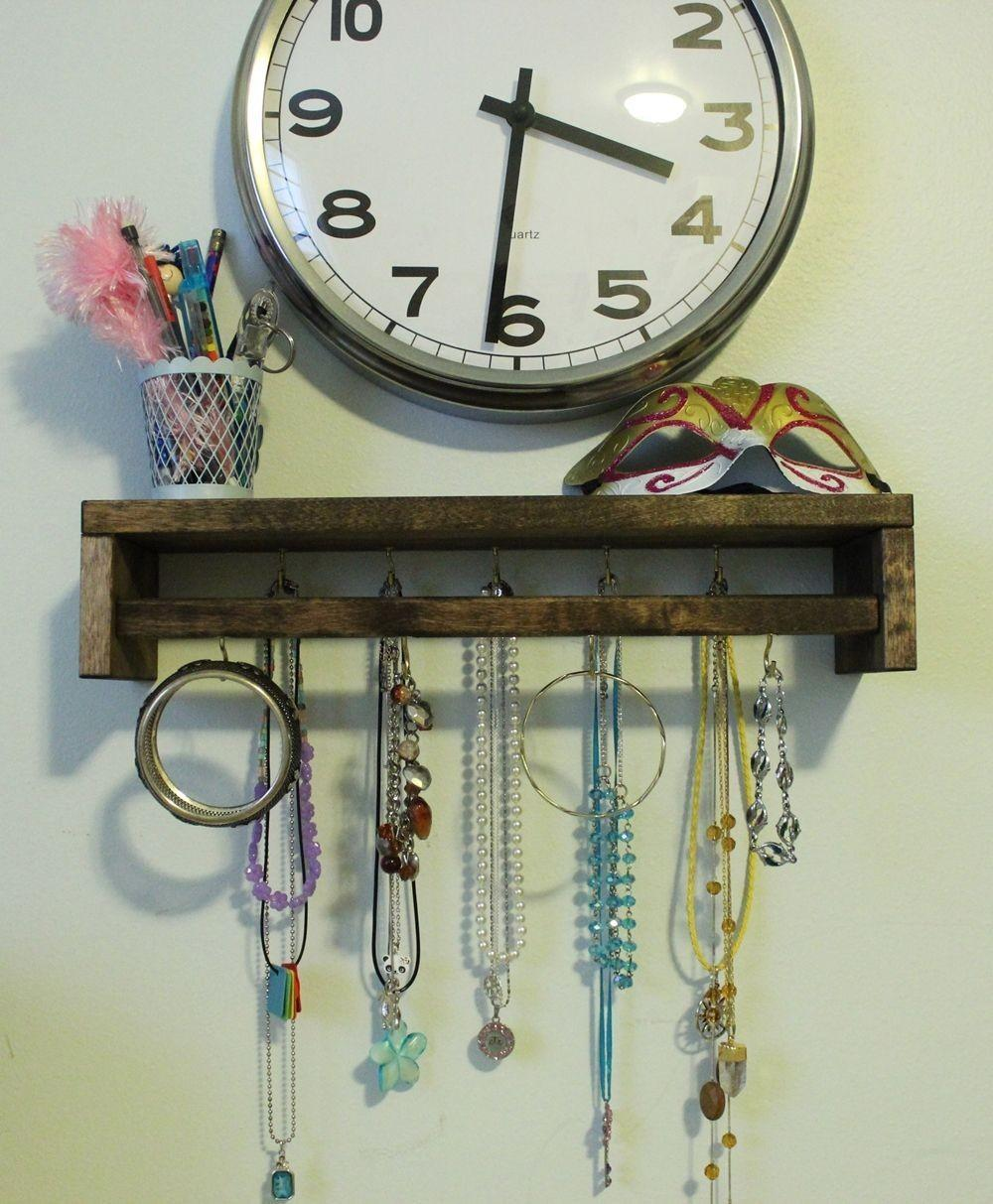 Diy Jewelry Holder Out Spice Rack Hack