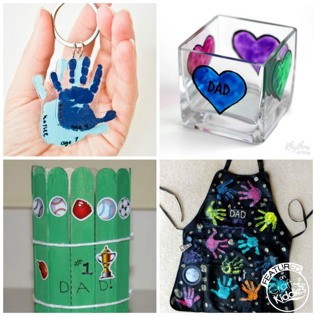 Diy Kiddies Father Day Gift Ideas Craft
