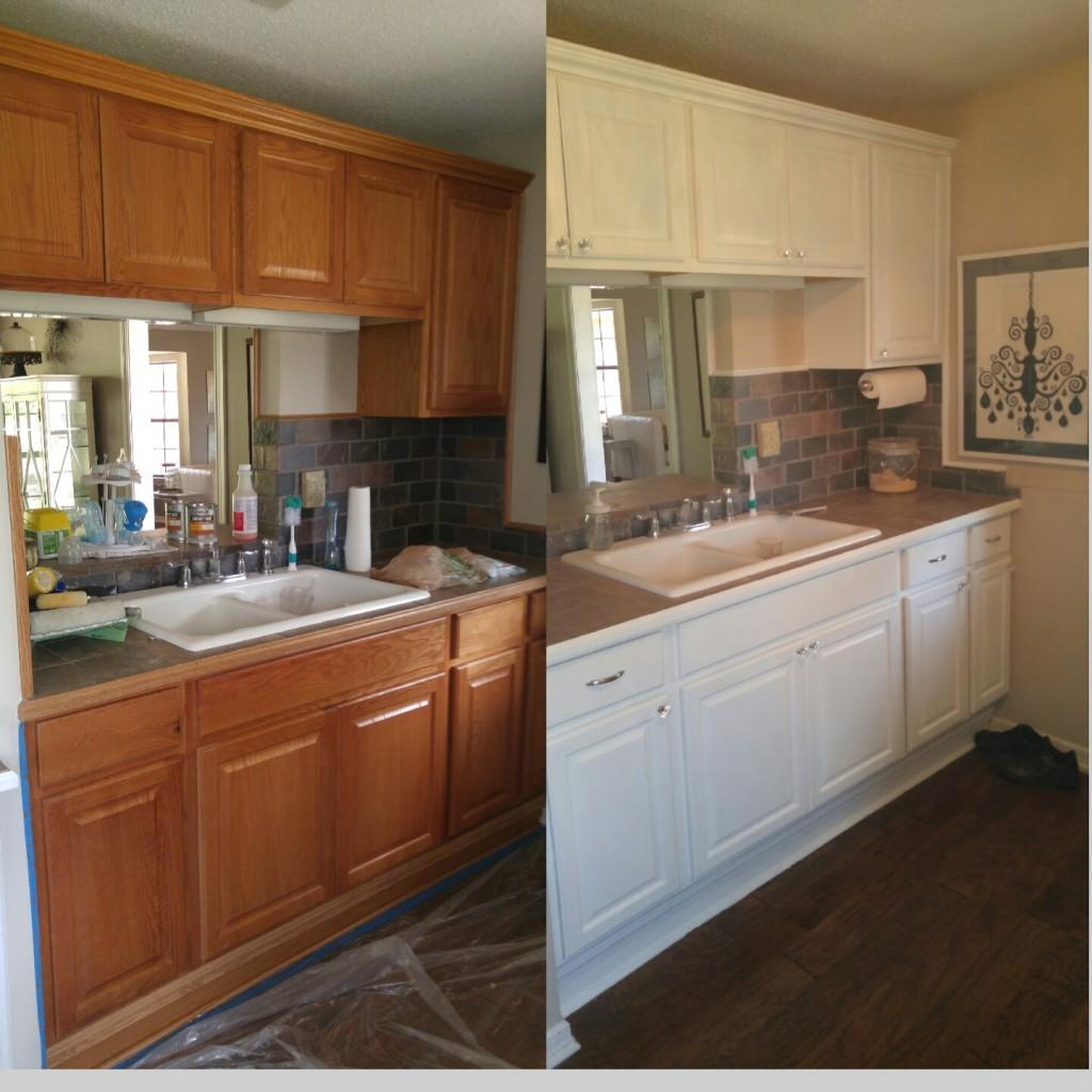 Diy Kitchen Makeover Paint Your Cabinets White