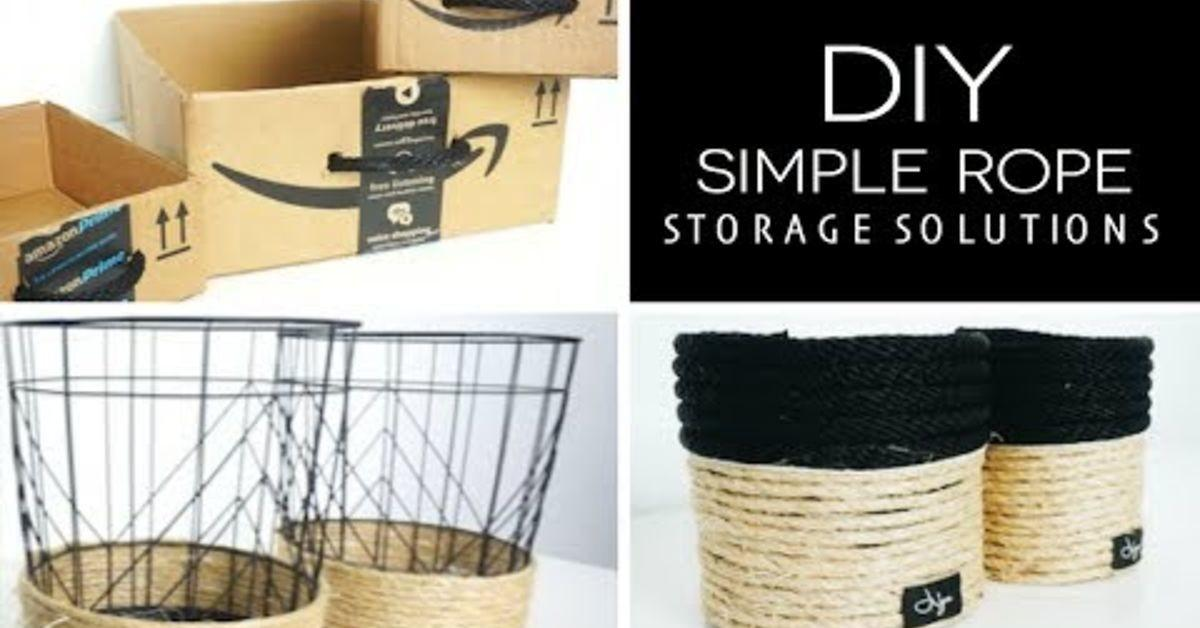 Diy Kitchen Storage Solution Using Oatmeal Canisters