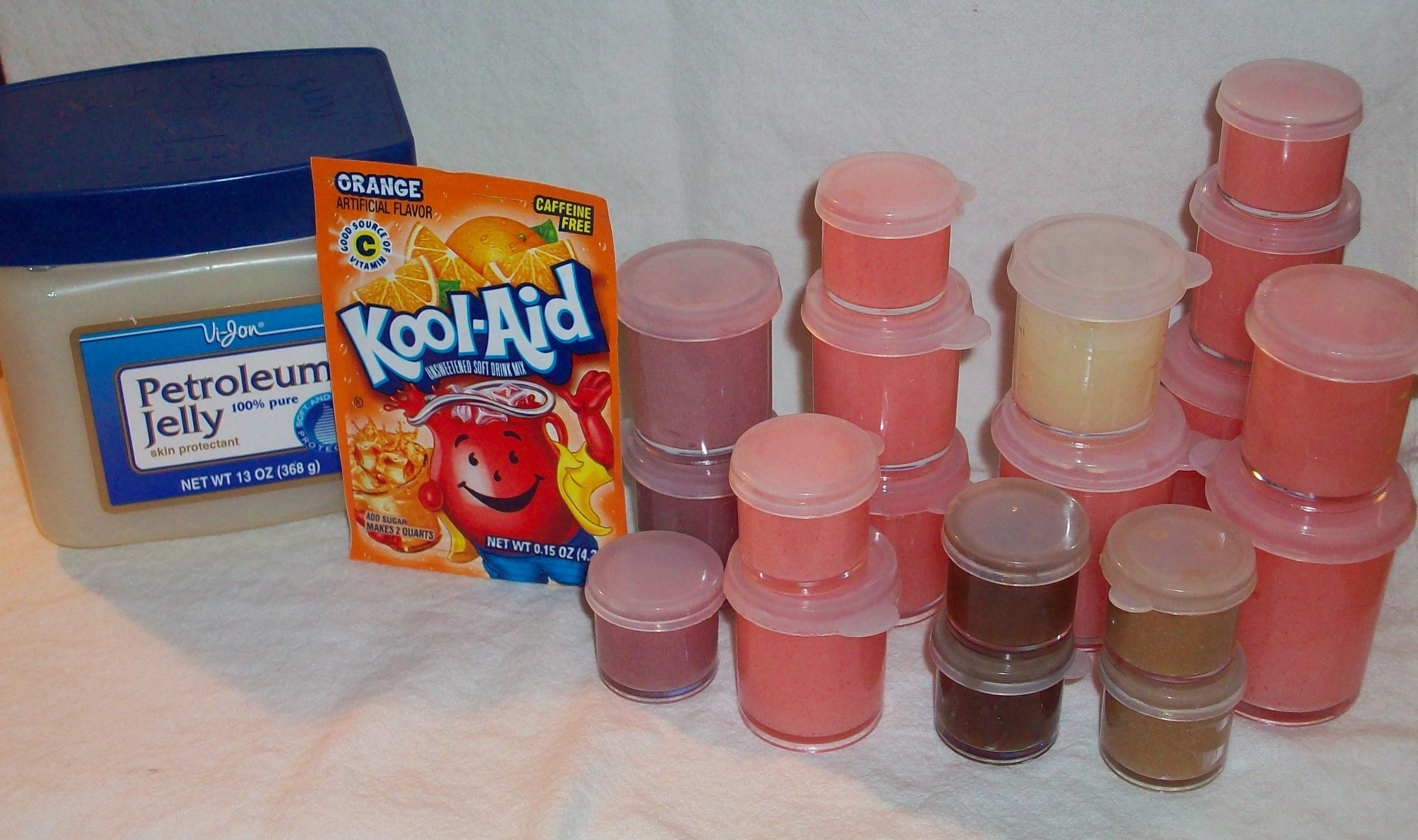 Diy Kool Aid Lip Gloss Crazy Crafts