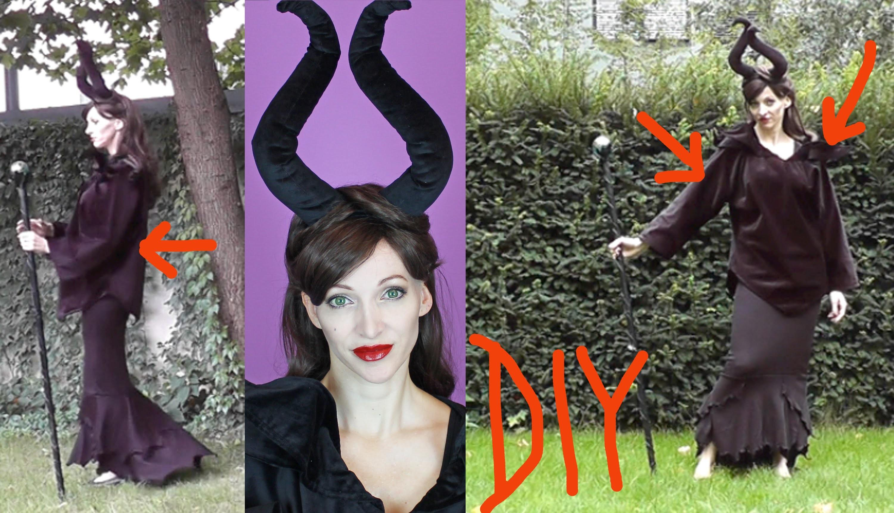 Diy Kost Zloby Lovny Ern Magie Maleficent
