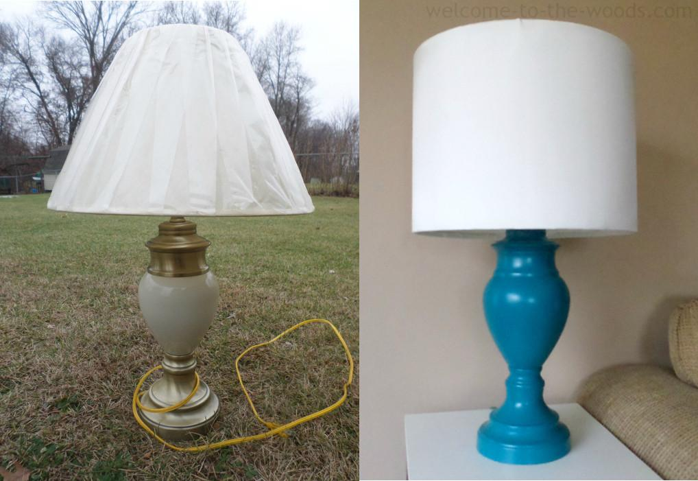 Diy Lamp Shade Base Welcome Woods