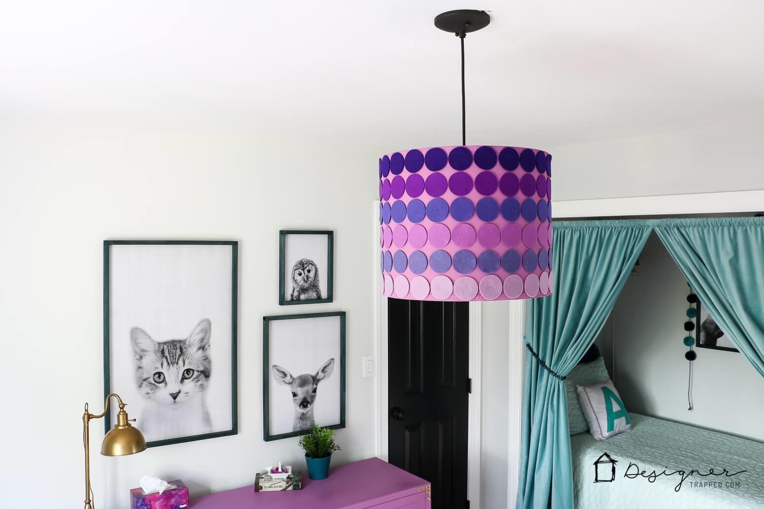 Diy Lampshade Ombre Style Designer Trapped