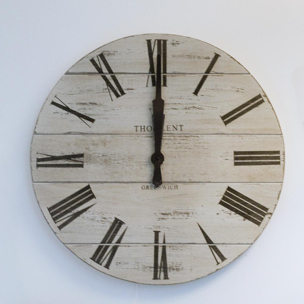 Diy Large Rustic Wall Clock Home Design Ideas