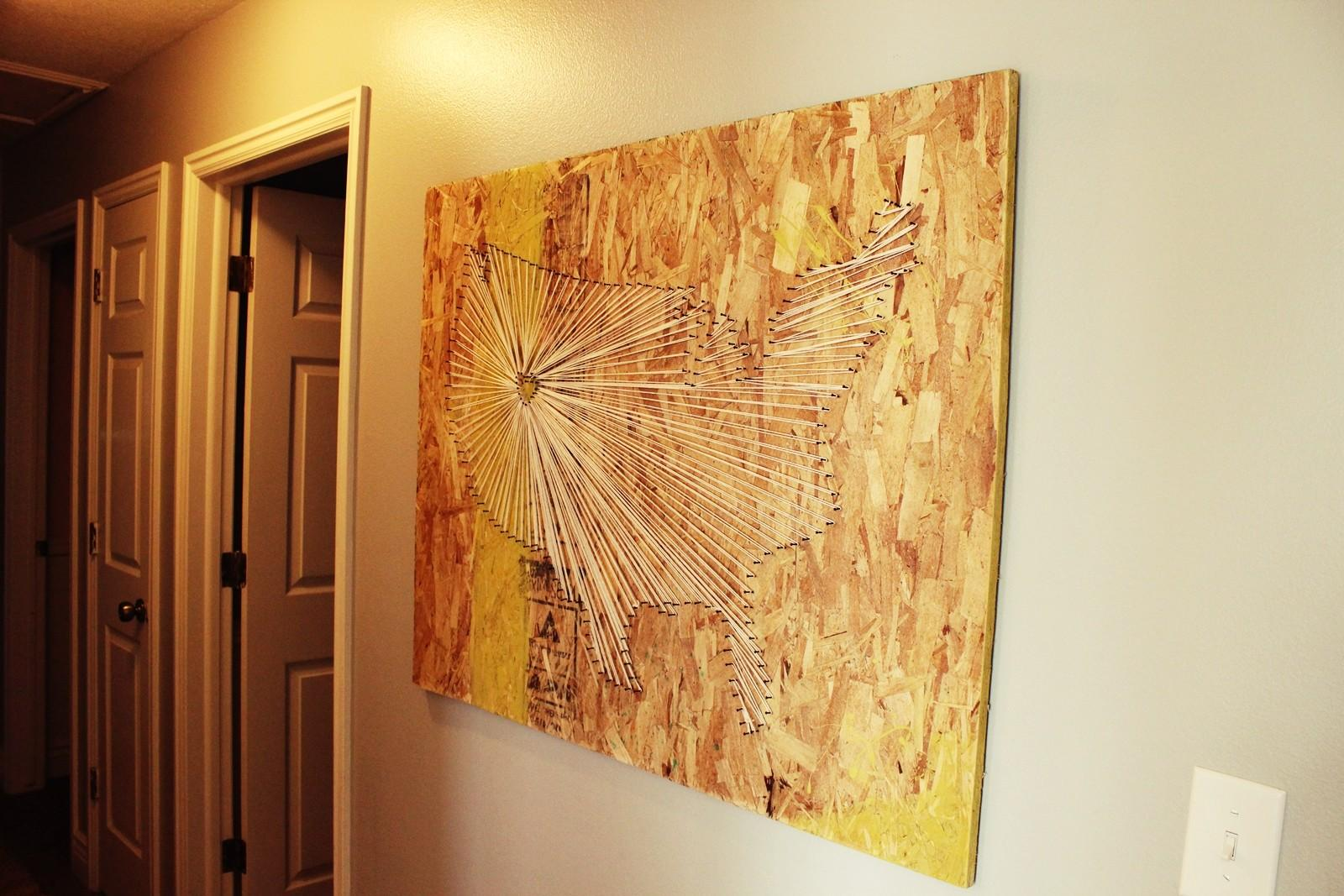 Diy Large Scale Wall Art Your Self
