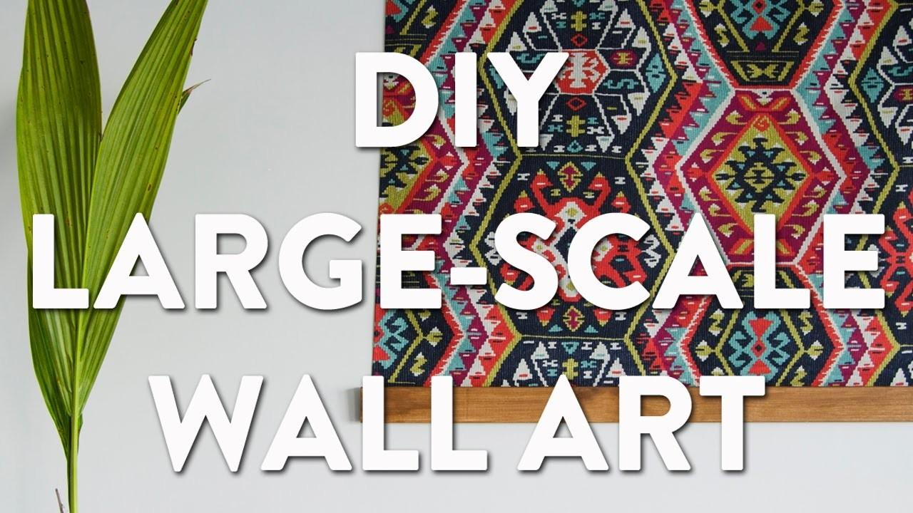 Diy Large Scale Wall Tapestry