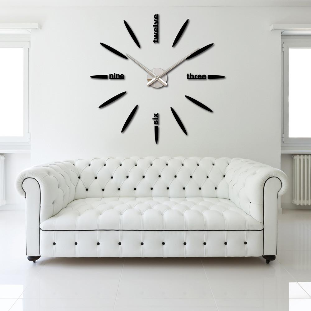 Diy Large Watch Wall Clock Decor Modern Design Stickers