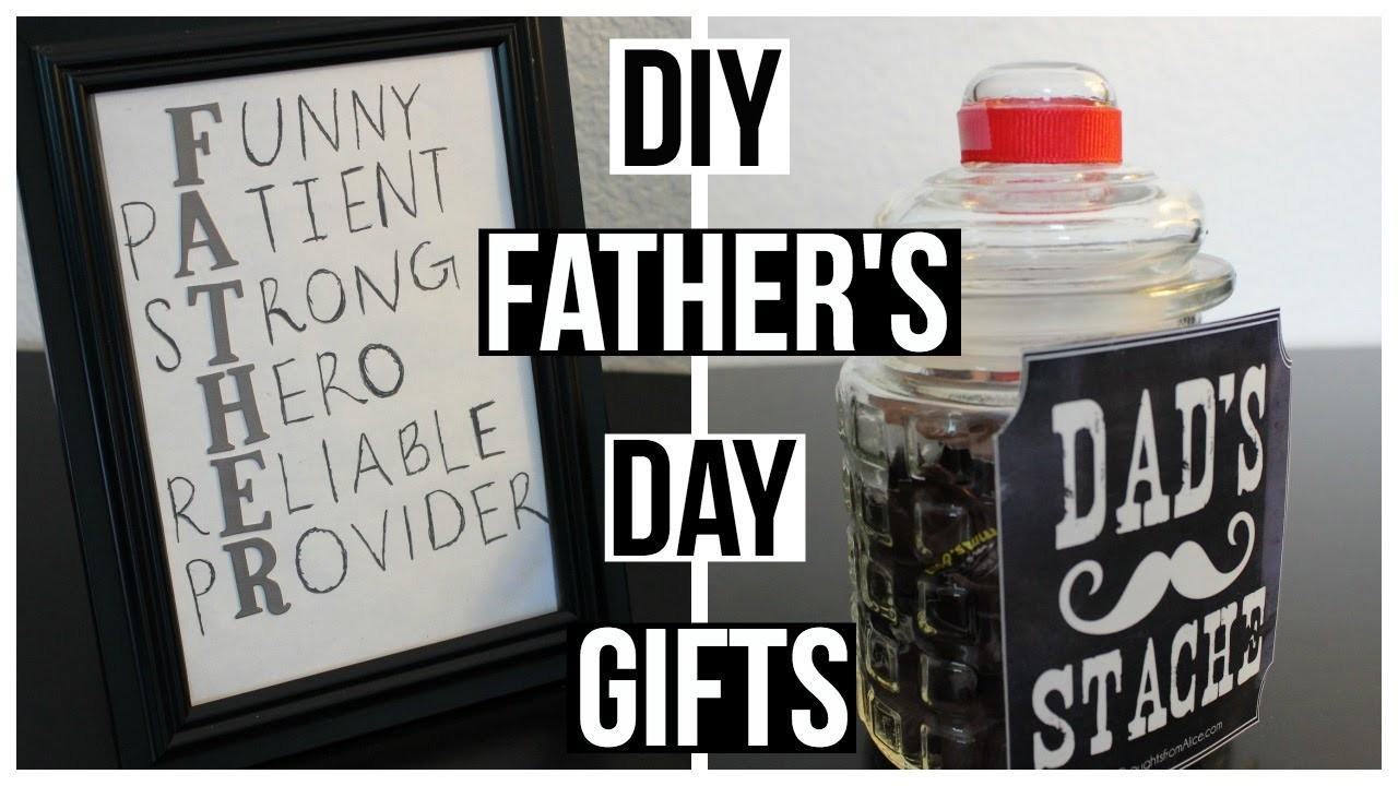 Diy Last Minute Father Day Gifts