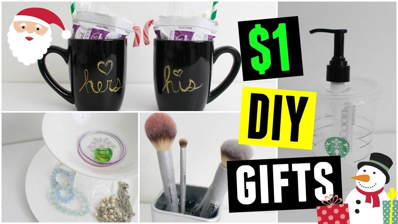 Diy Last Minute Gift Ideas Dollar Store Christmas