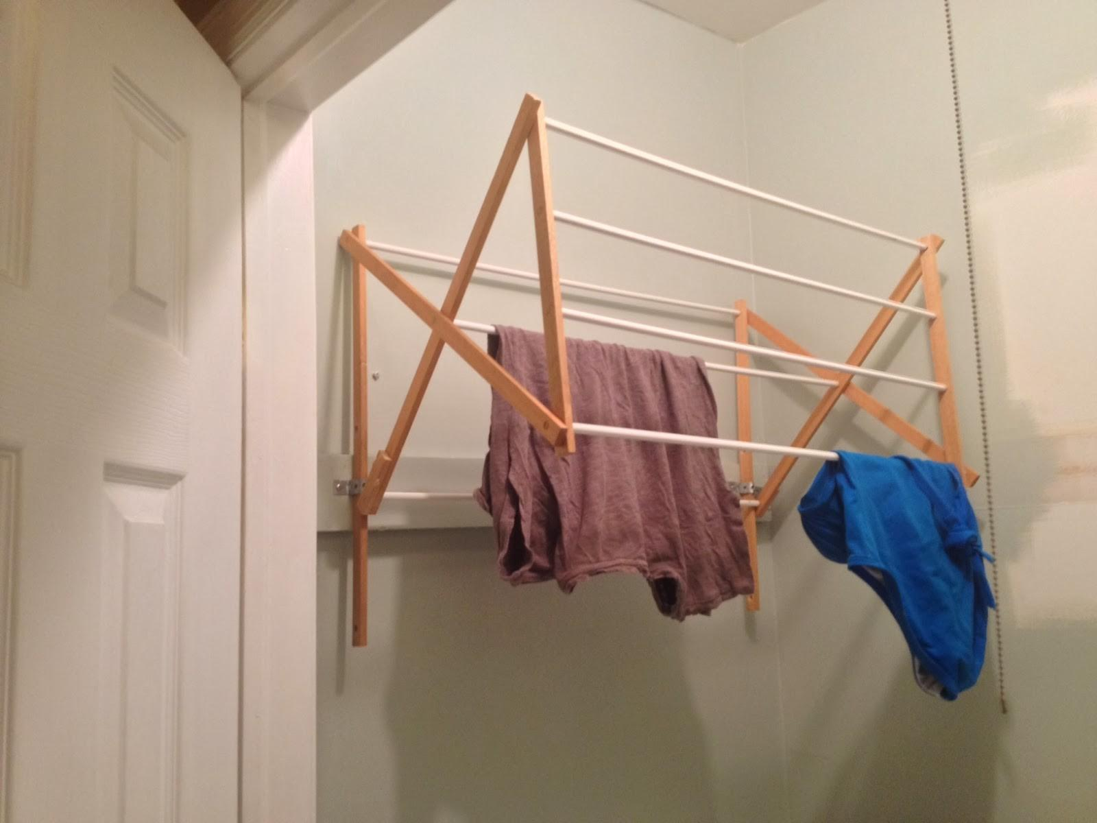 Diy Laundry Drying Racks Small Spaces