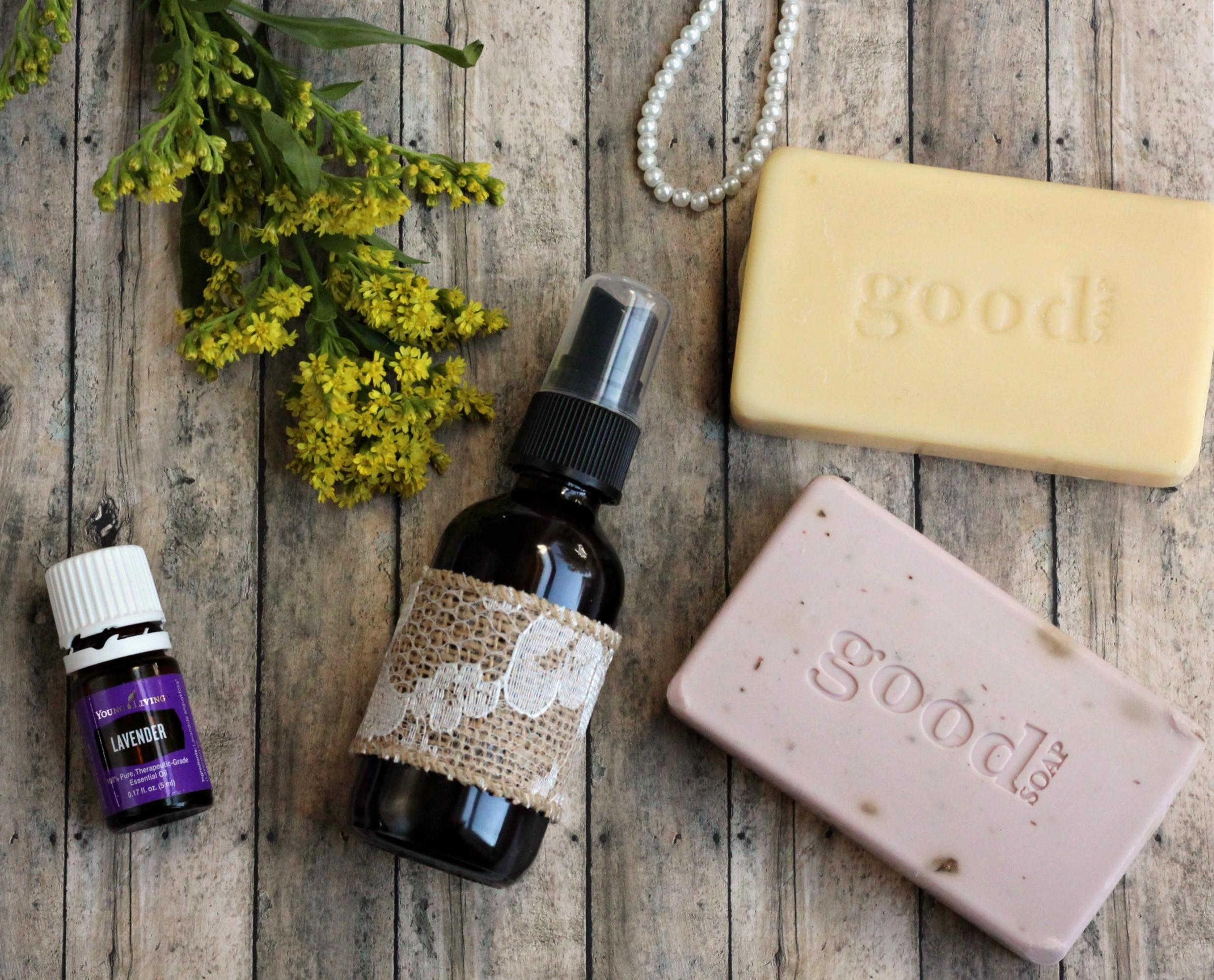 Diy Lavender Linen Spray Grace Granola