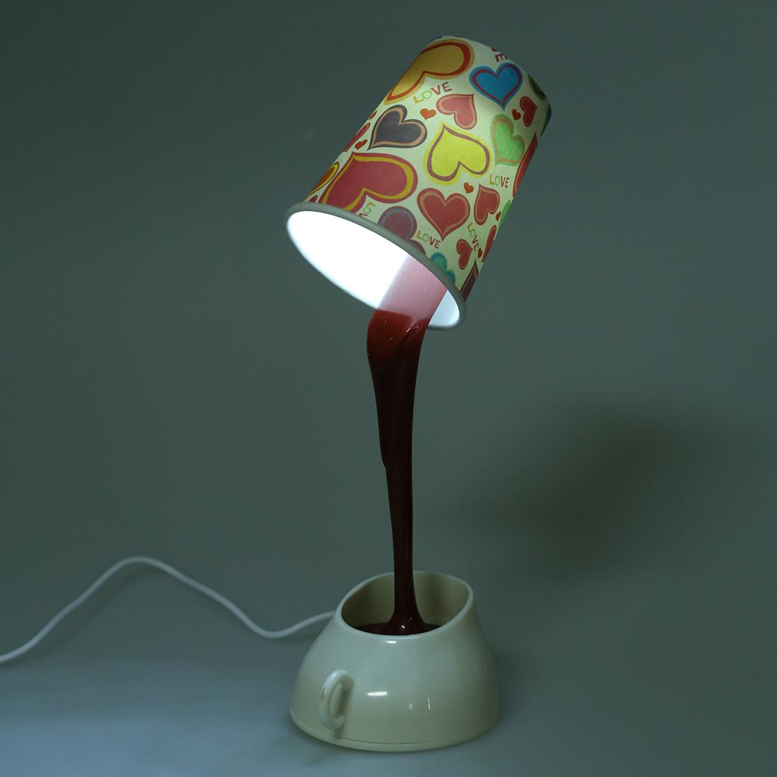 Diy Led Coffee Cup Lamp Home Decoration W7m4 L7h6