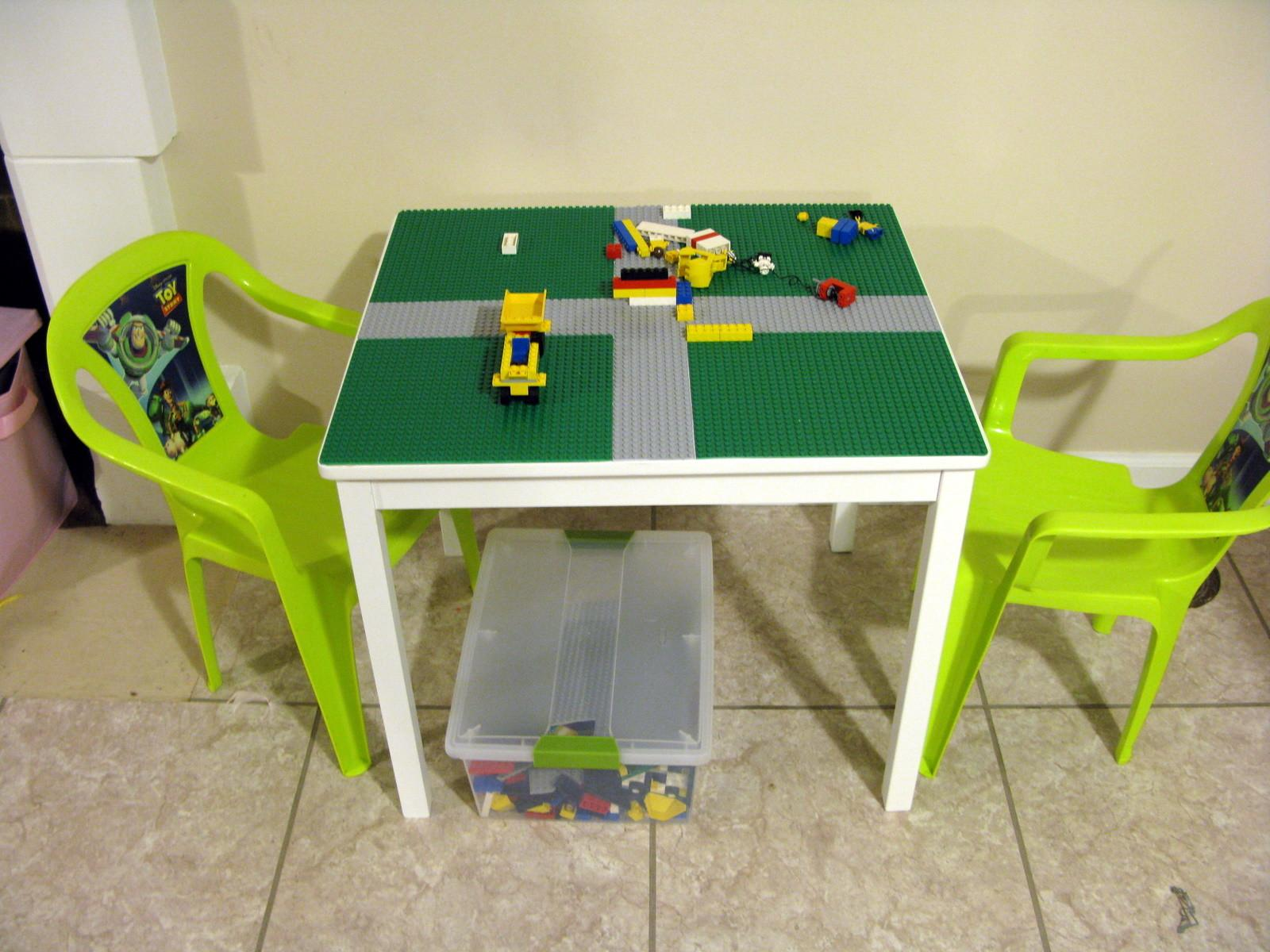 Diy Lego Table Finding Joy Everyday Life