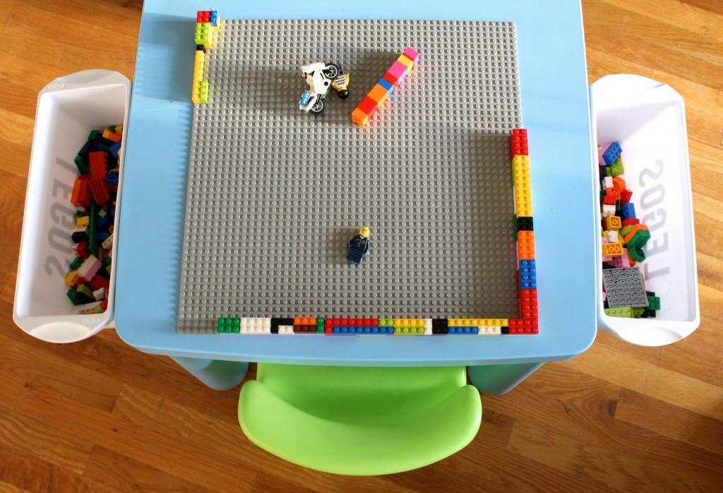 Diy Lego Trays Organization Ideas
