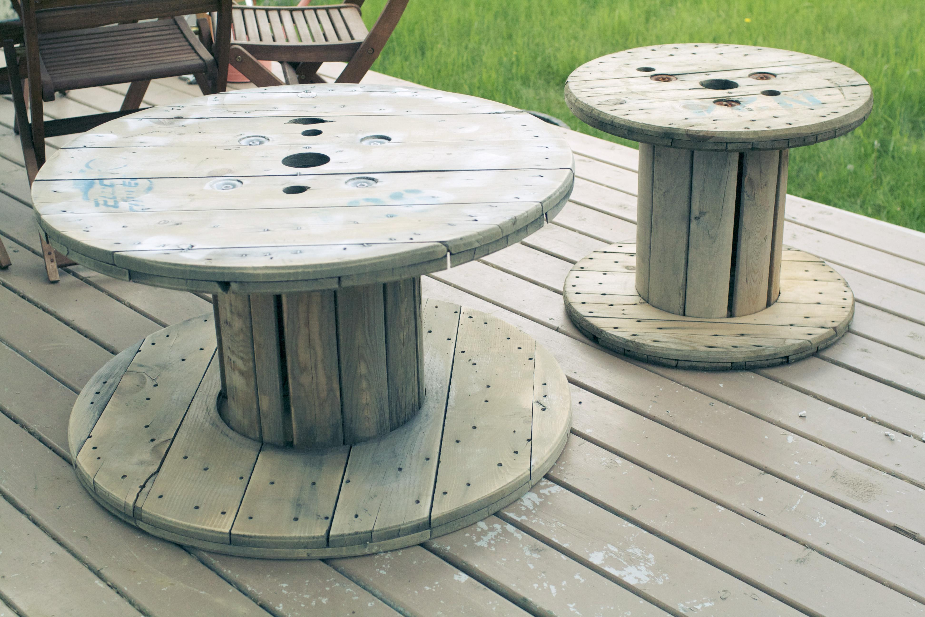 Diy Library Table Old Spool