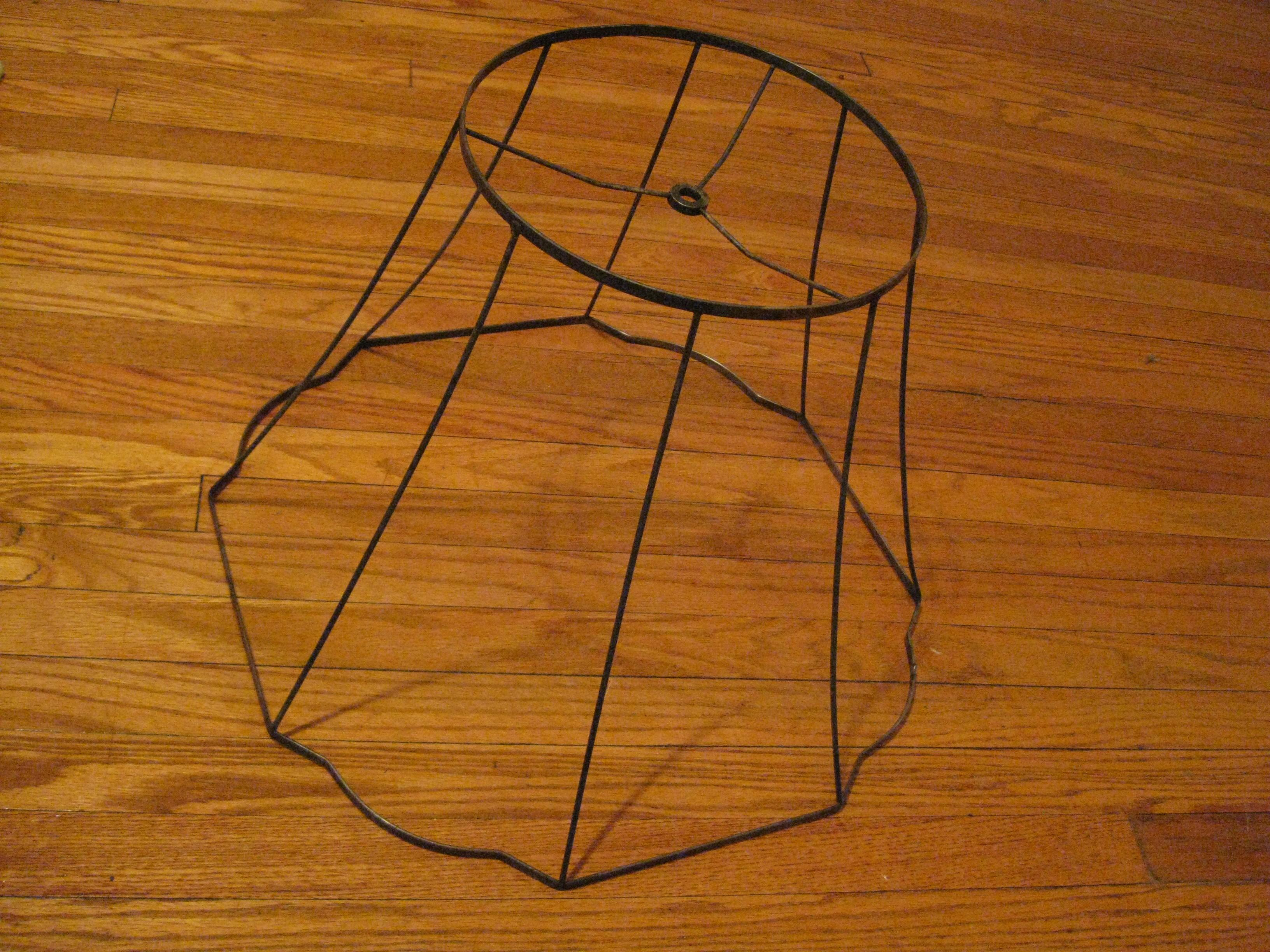 Diy Lighted Lampshade Frame Crow Quill