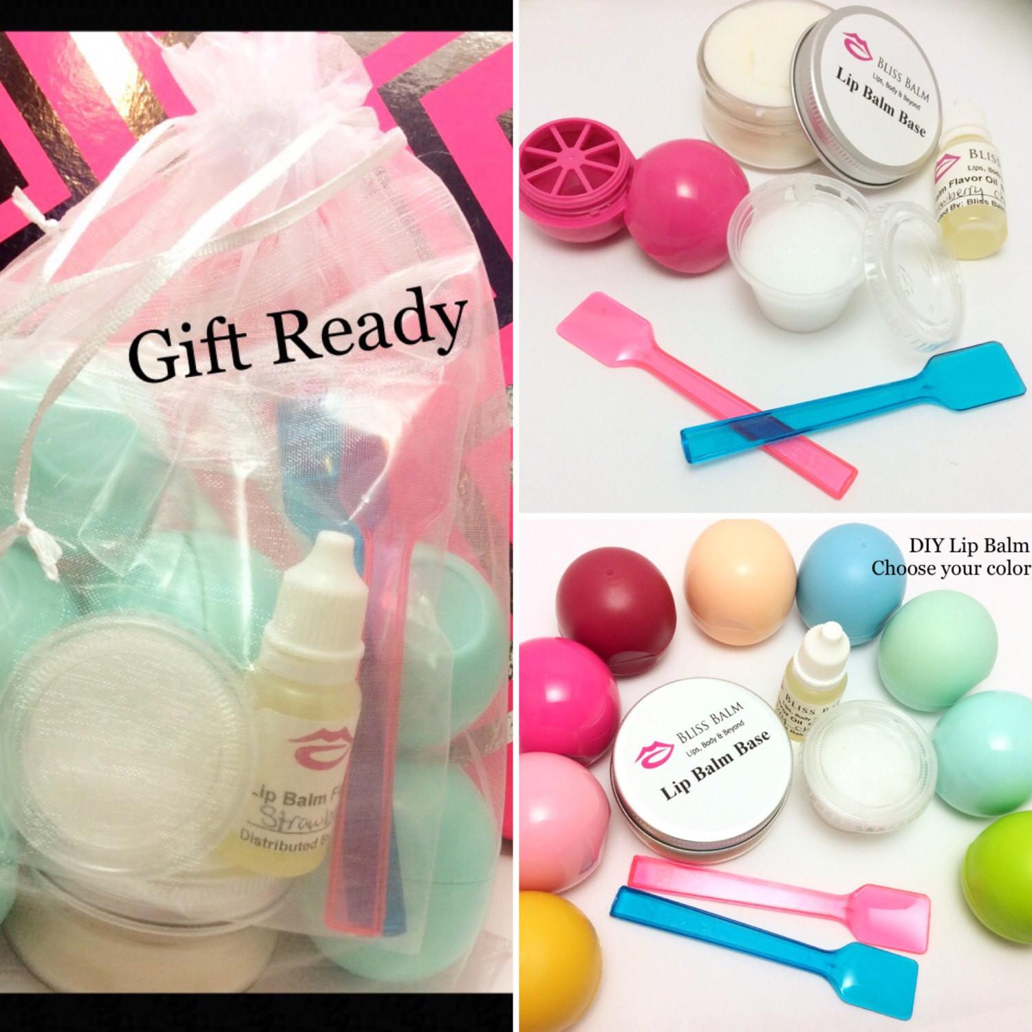 Diy Lip Balm Kit Choose Your Color Flavor Lipbalm