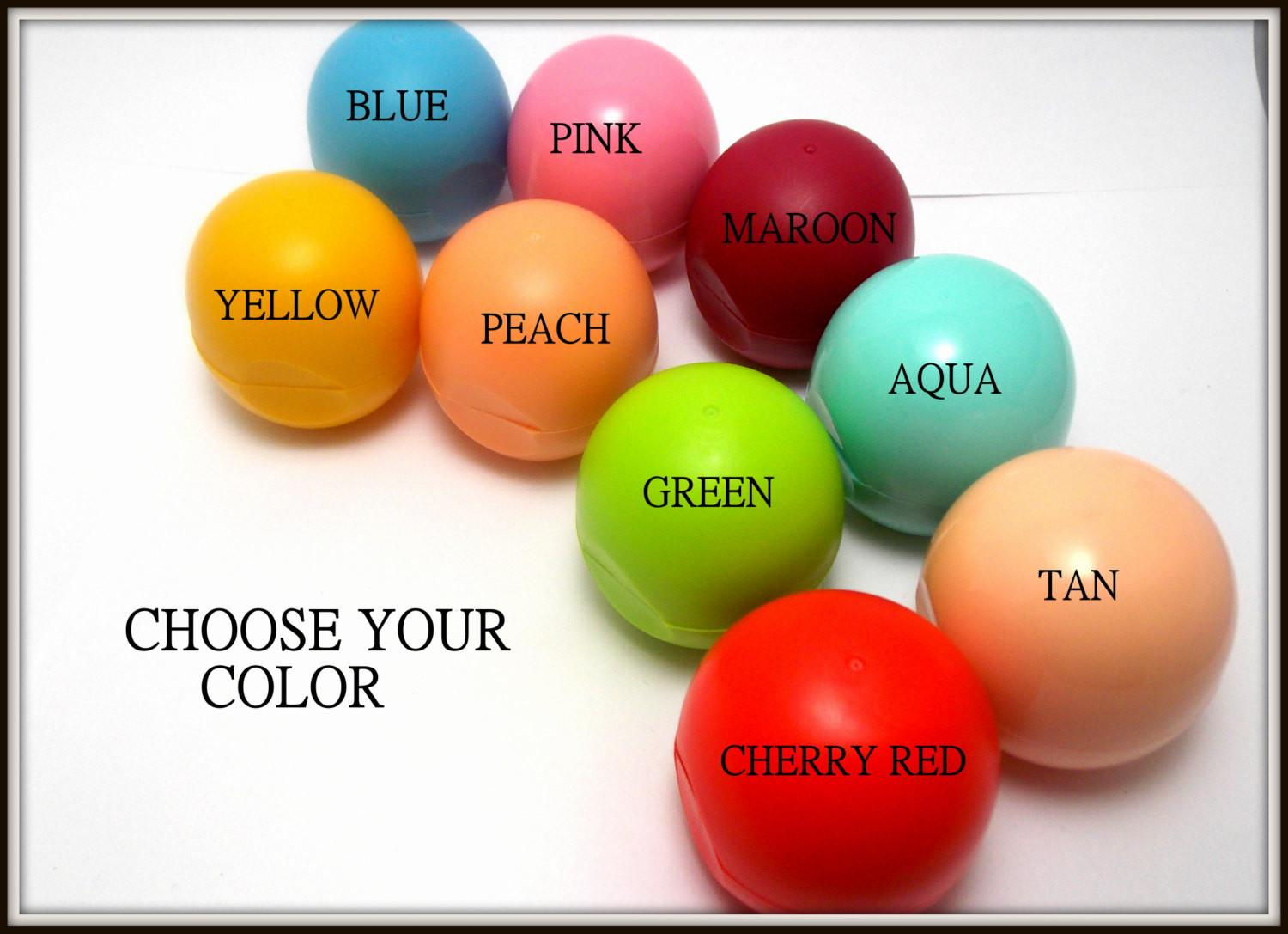 Diy Lip Balm Kit Choose Your Color Flavor Lipbalm Oval