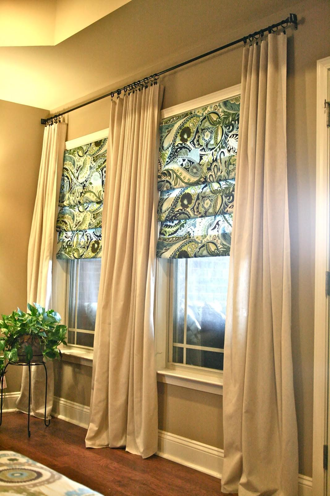 Diy Living Room Curtains Sew Faux
