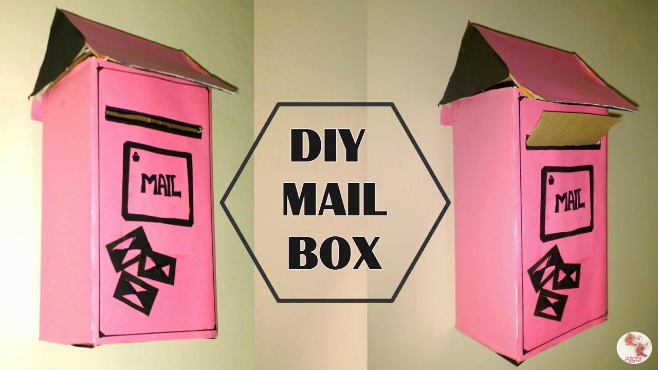 Diy Mail Box Recycle Shoe Letter