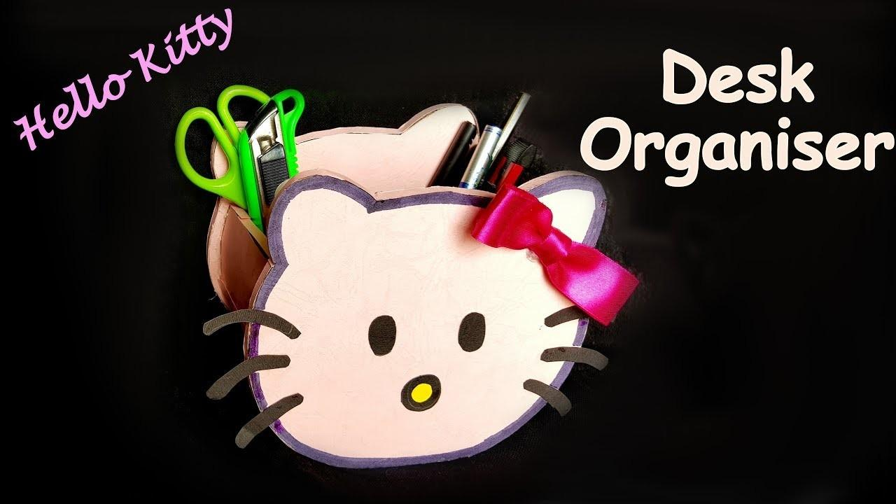 Diy Make Hello Kitty Pen Stand Pencil Holder