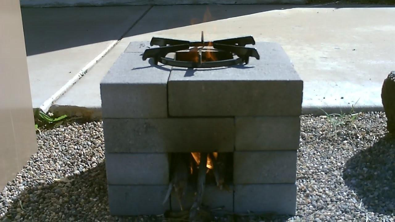 Diy Make Your Own Brick Rocket Stove Pugon