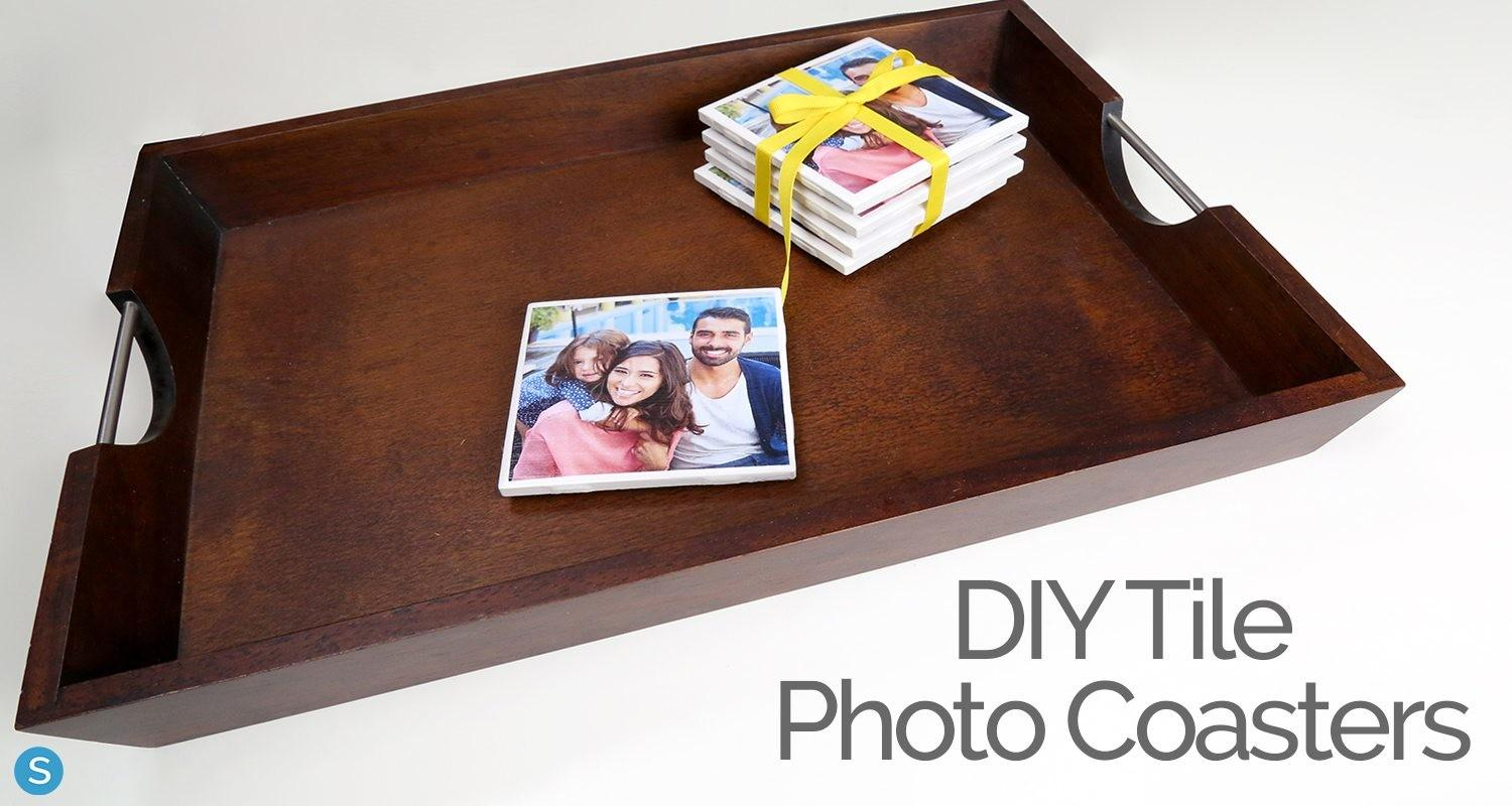 Diy Make Your Own Customizable Coasters Tile