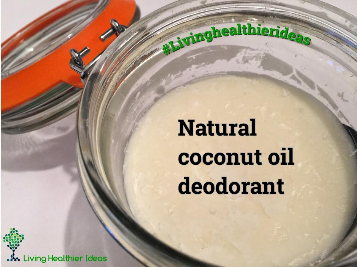 Diy Make Your Own Natural Coconut Oil Deodorant