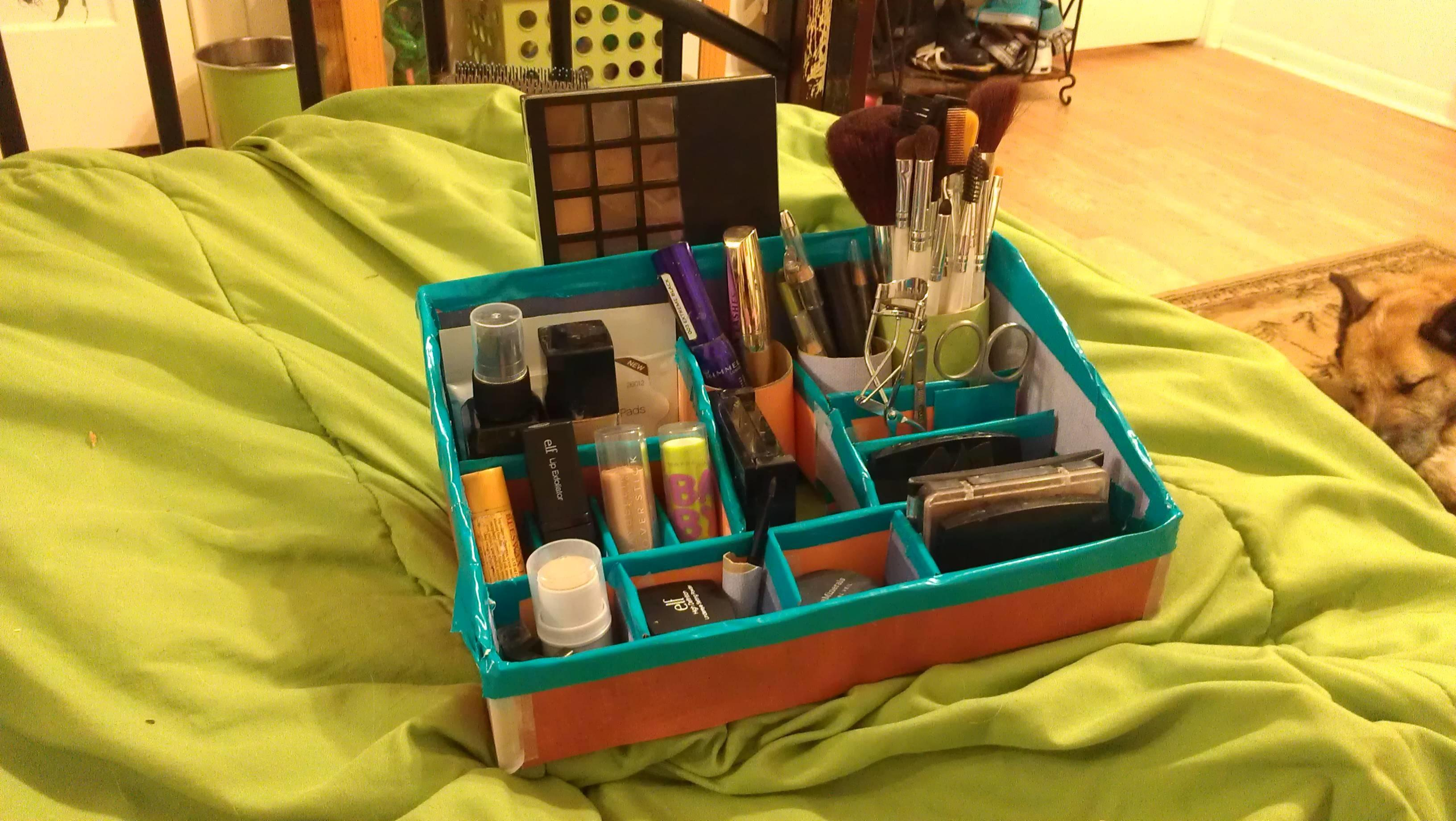 Diy Makeup Organizer Really Easy Project All Need