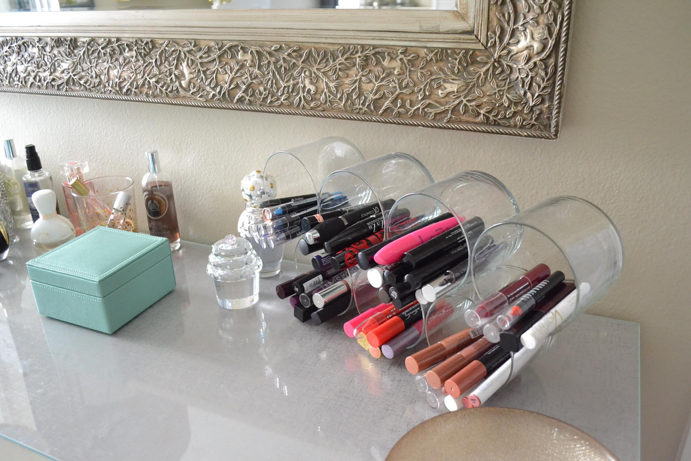 Diy Makeup Wall Organizer Daily
