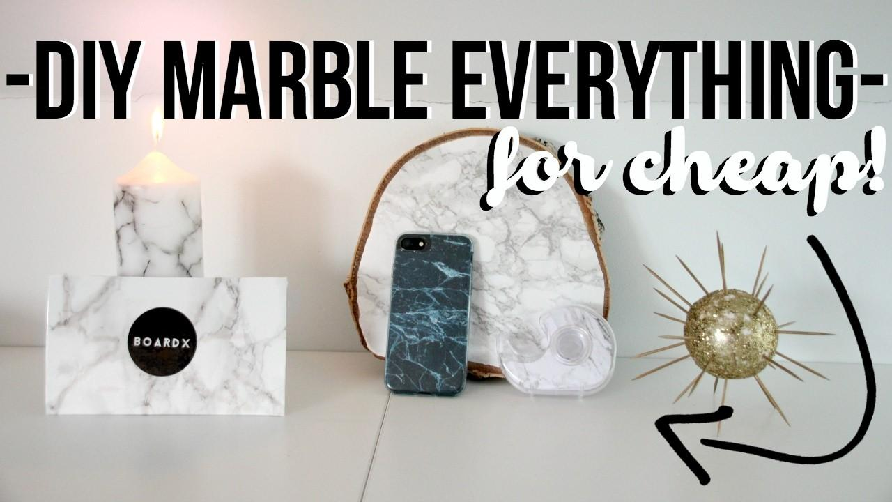 Diy Marble Everything Room Decor Iphone Cases