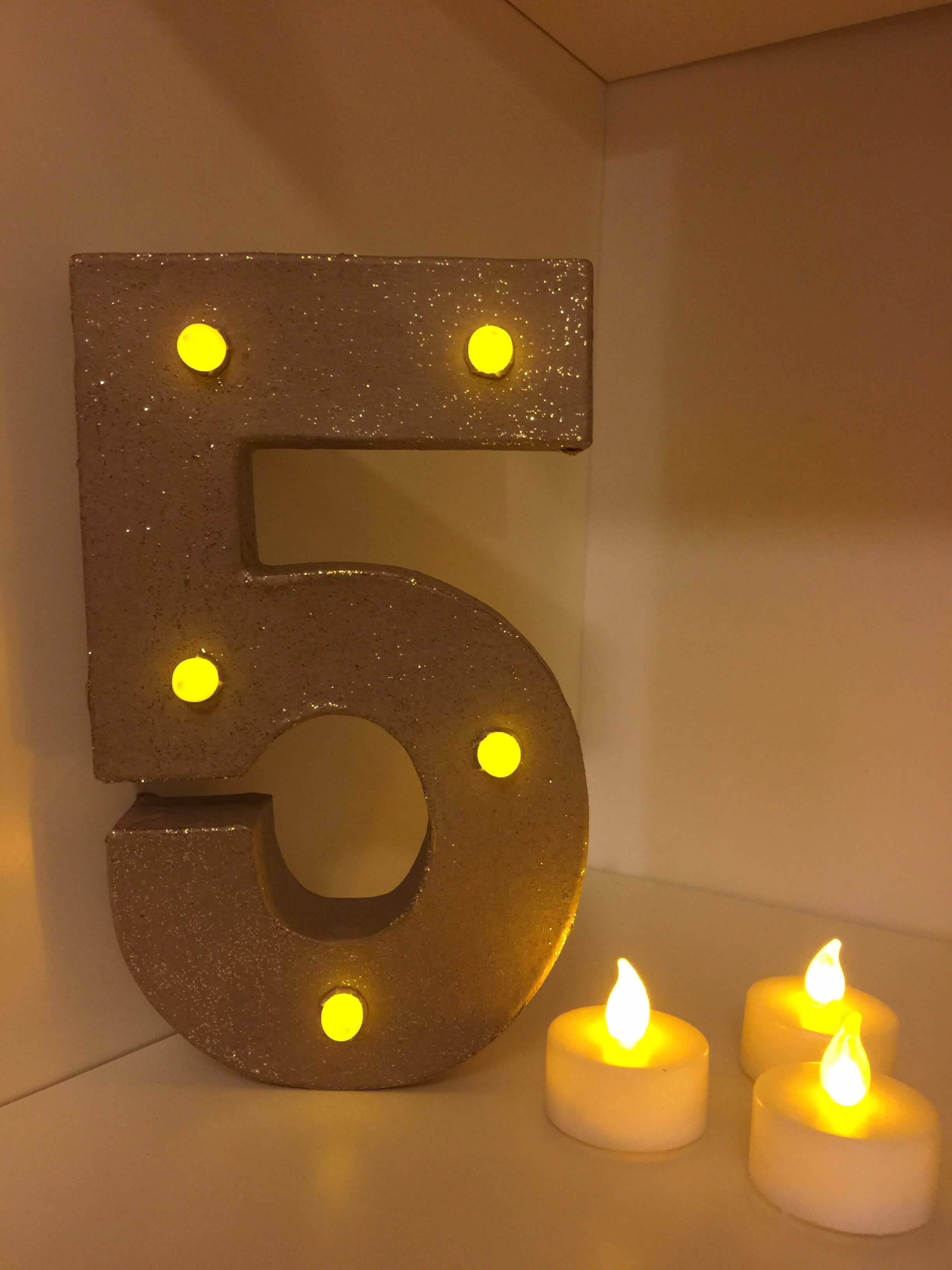 Diy Marquee Light Tutorial Gingerbread House