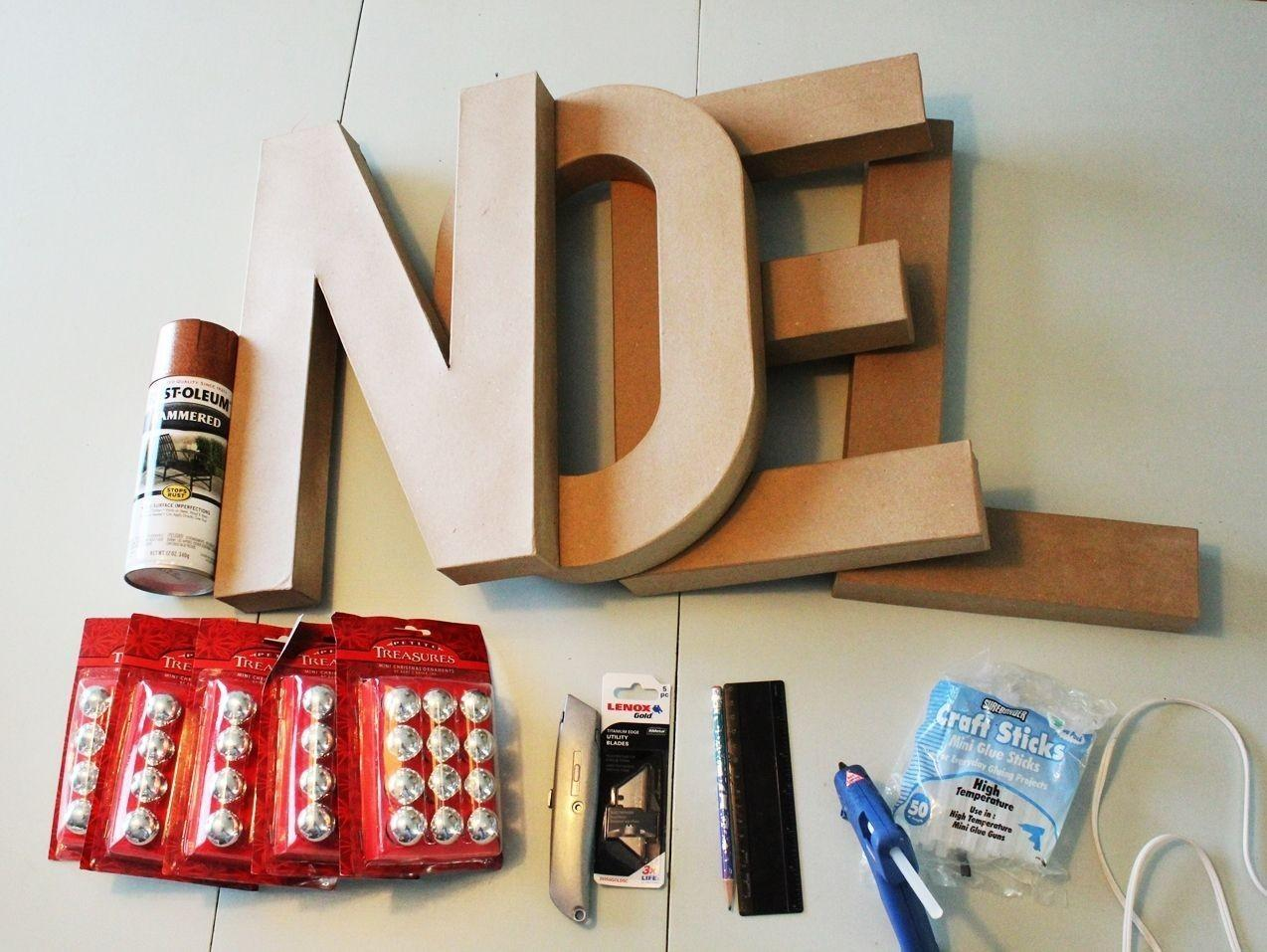 Diy Marquee Sign Letters