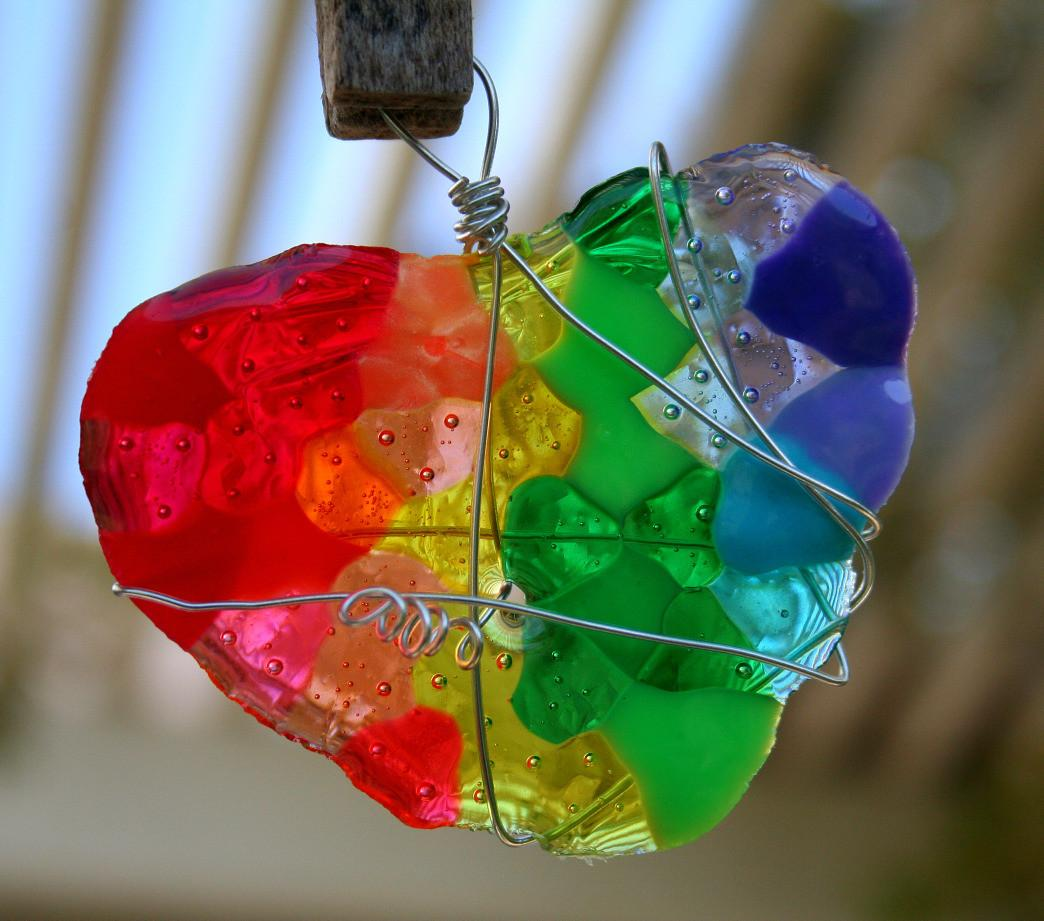 Diy Melted Bead Sun Catcher Loosygoosey Blog