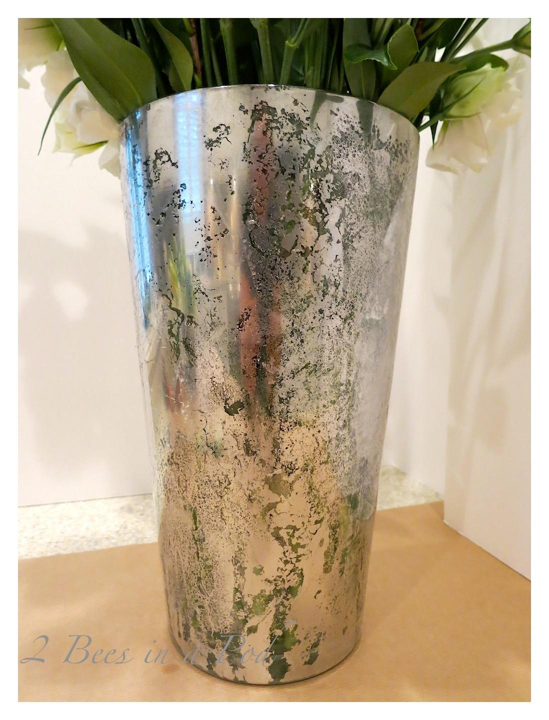 Diy Mercury Glass Vases Bees Pod